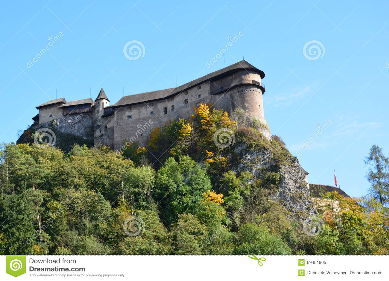 Slovakia Orava slott