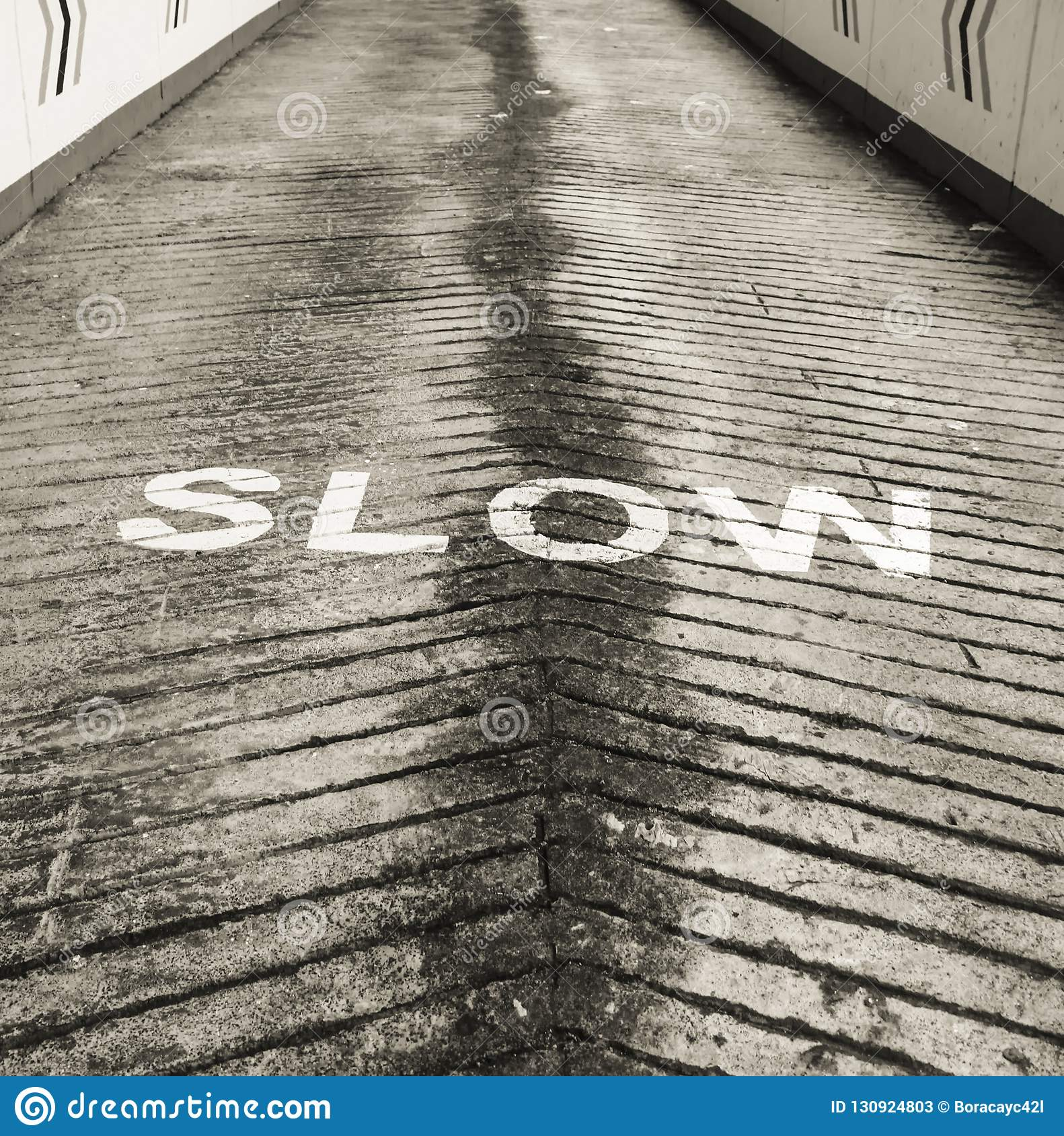 Slow down signage