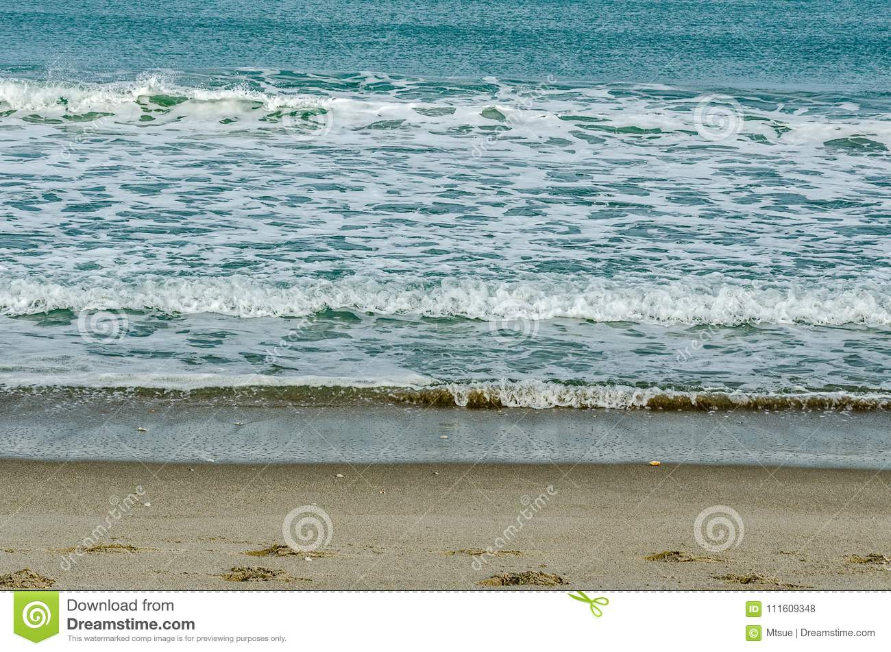 The Gently Rolling Sea