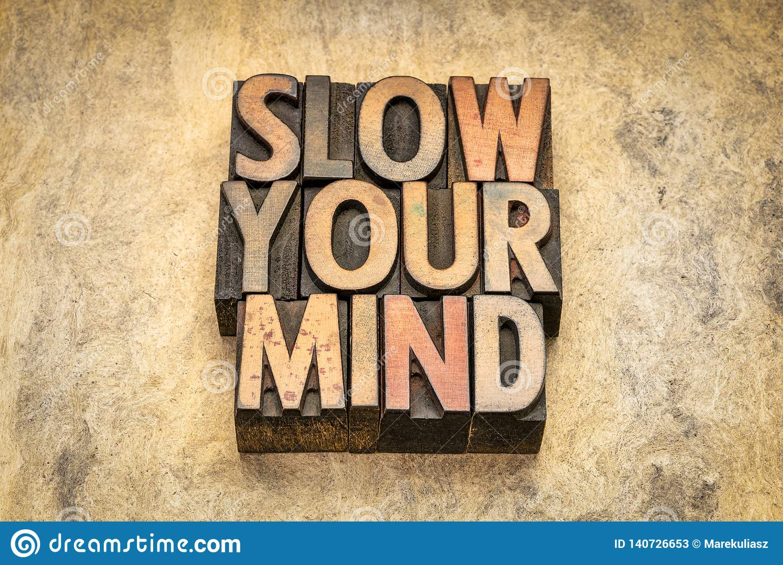 Slow your mind advice