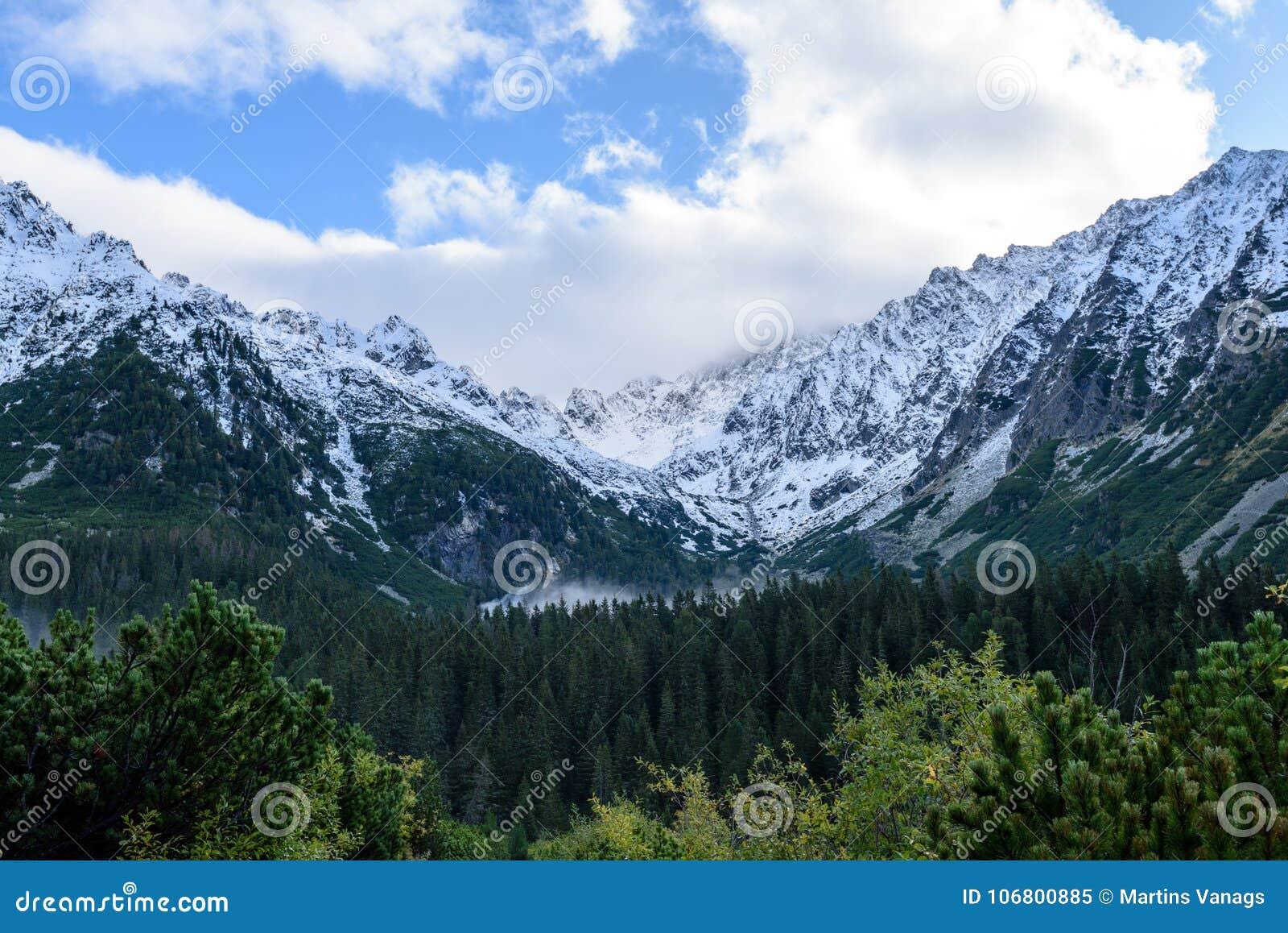 Download Slowakische Karpatenberge Im Herbst Grüne Hügel Mit Oberteilen Stockbild - Bild von gras, schön: 106800885