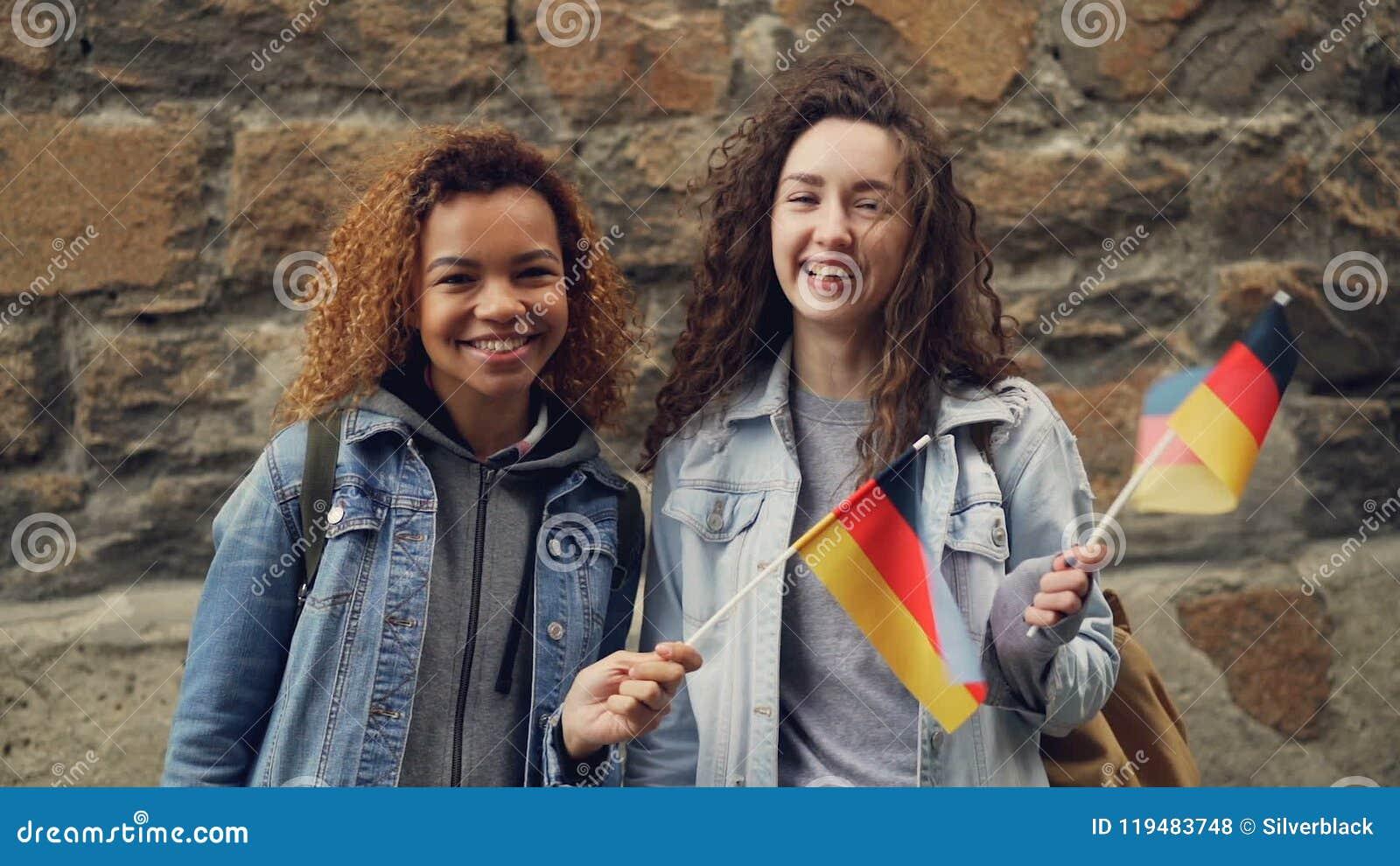 German girl for friendship