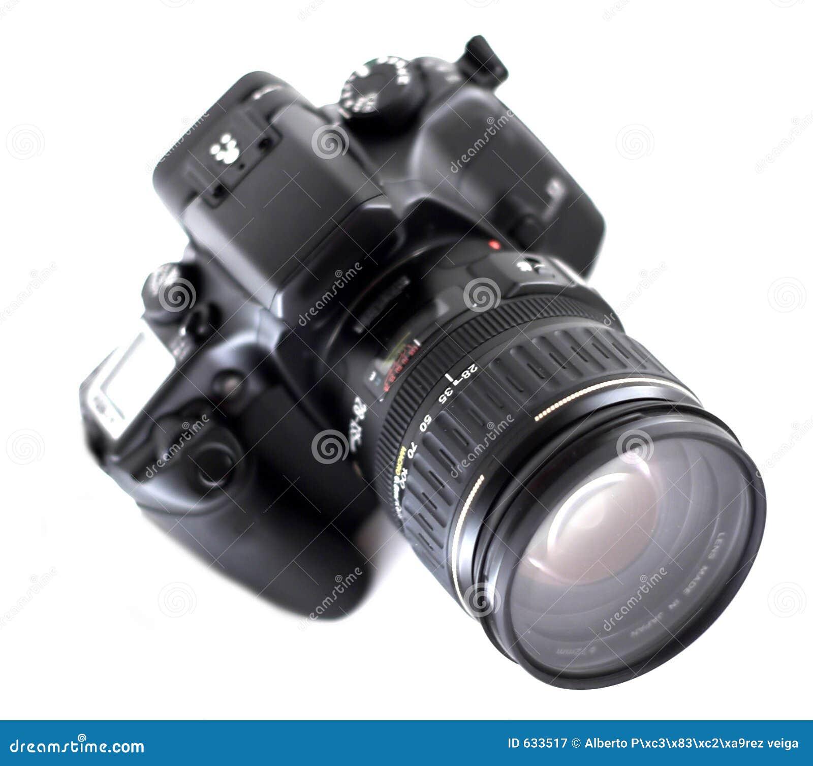 Download Slr камеры стоковое изображение. изображение насчитывающей штарка - 633517