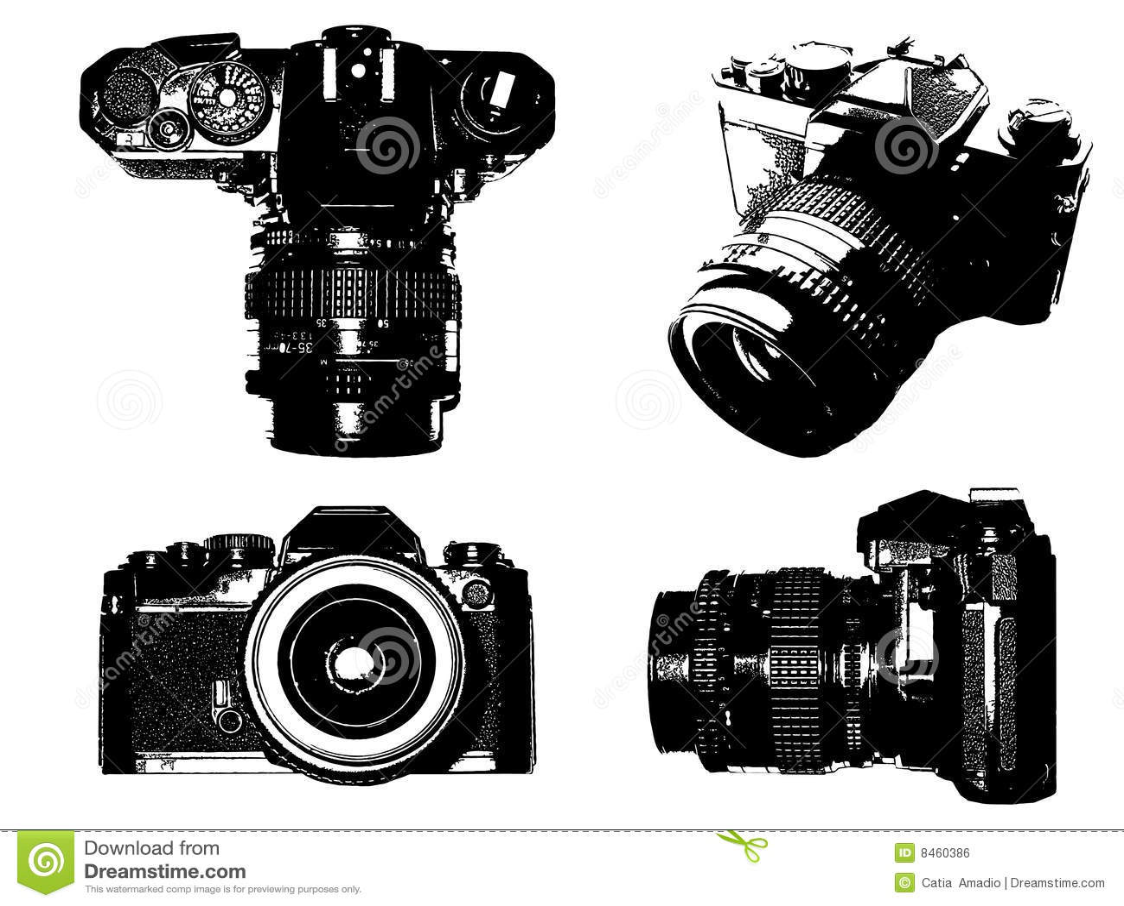 Slr Camera Royalty Free Stock Image - Image: 8460386