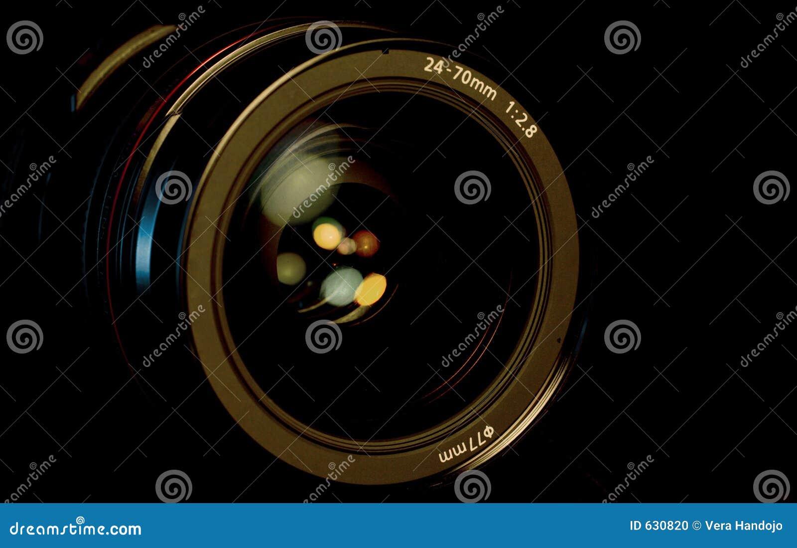 SLR Kamery Obiektyw