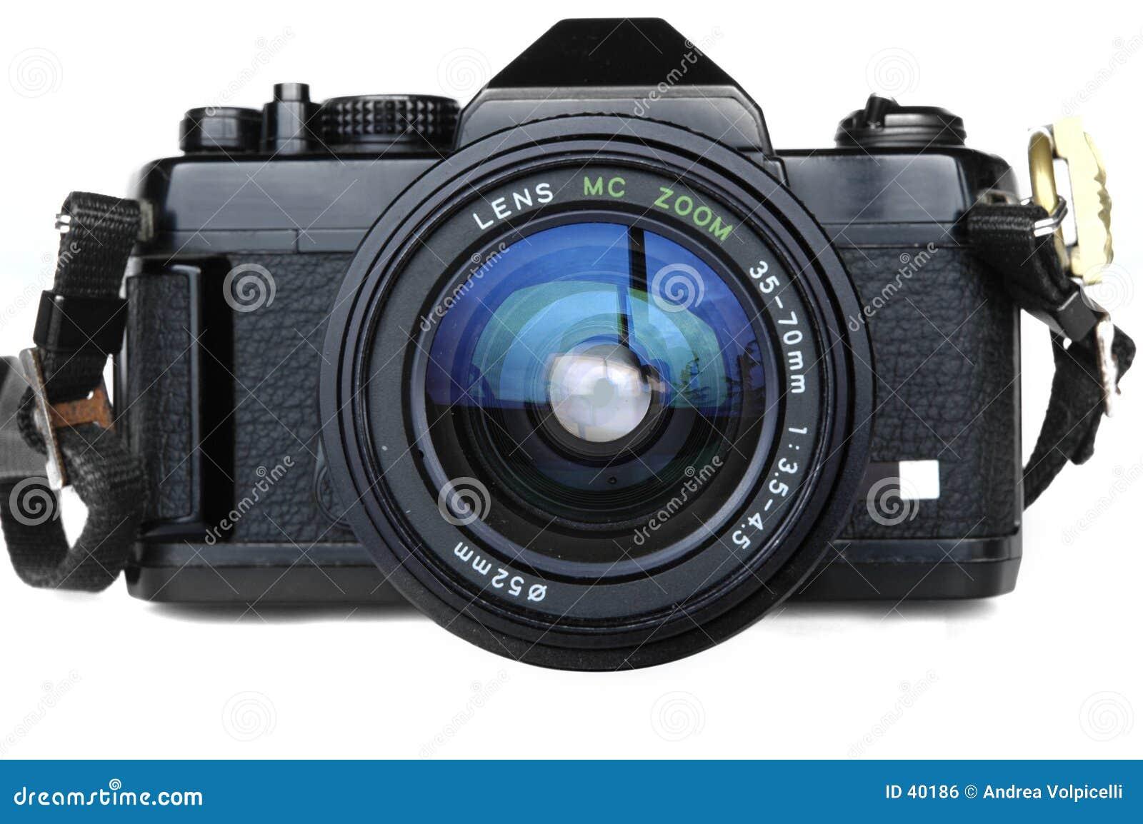 Download SLR viejo foto de archivo. Imagen de cuadro, viejo, óptico - 40186