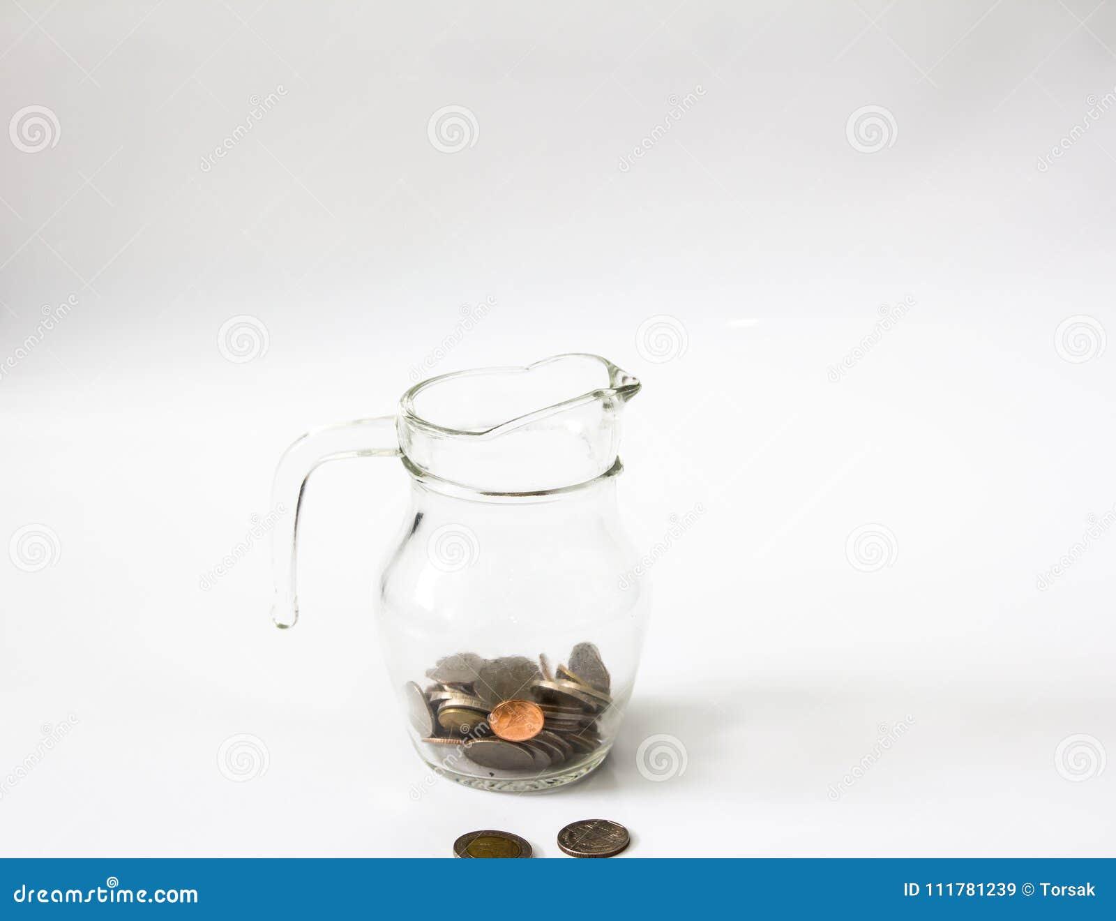 Sluit omhoog sparen geld