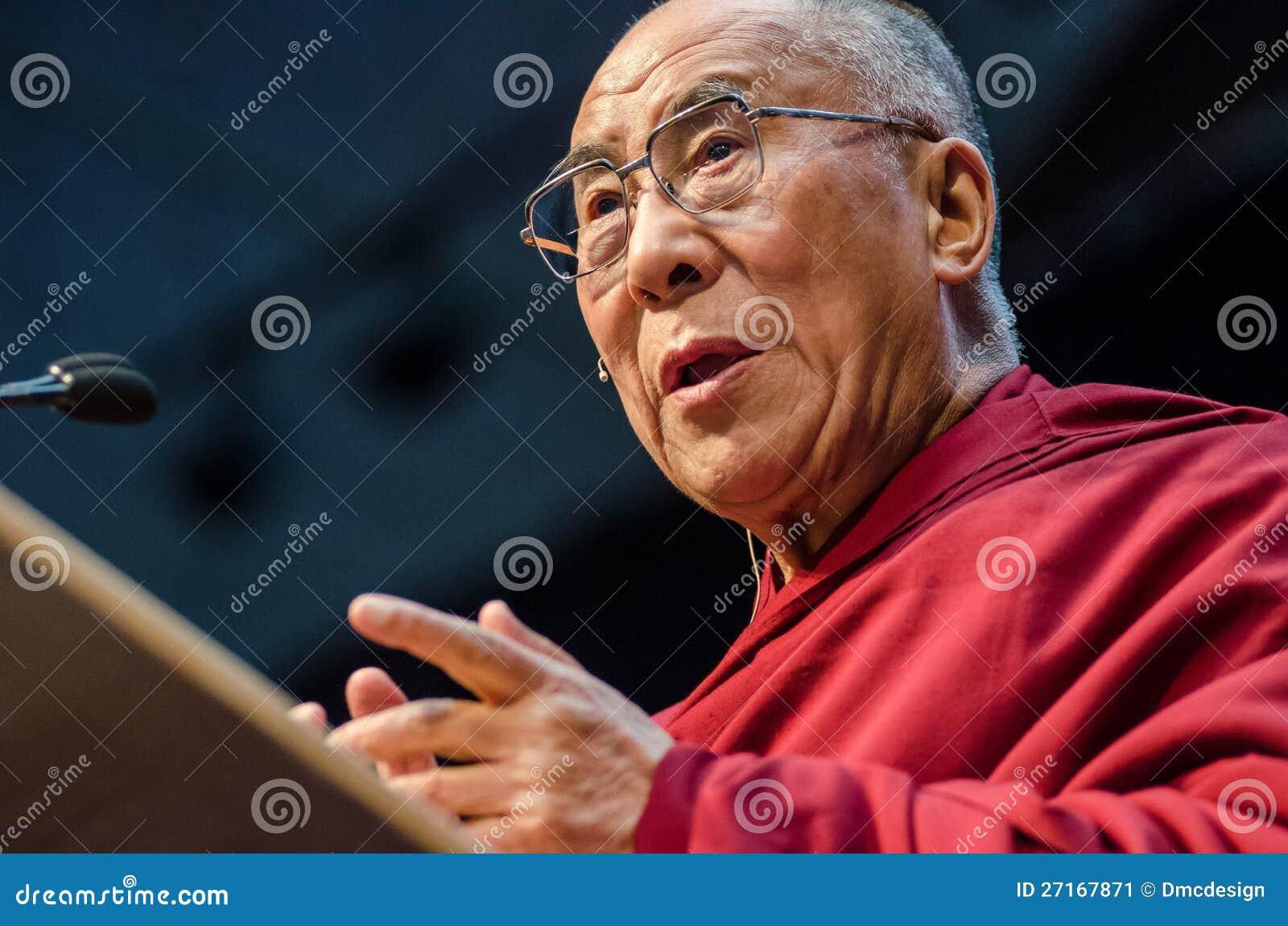 Sluit omhoog van Dalai Lama