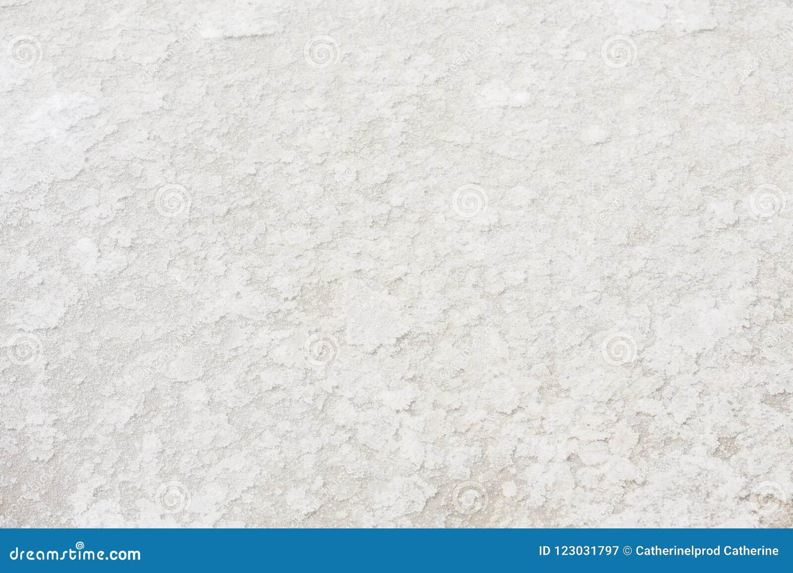 Sluit omhoog van overzees zout in zout landbouwbedrijf,