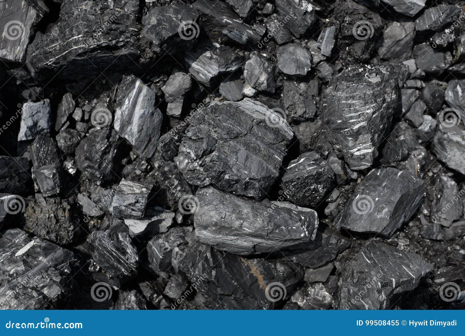 Sluit omhoog van steenkool