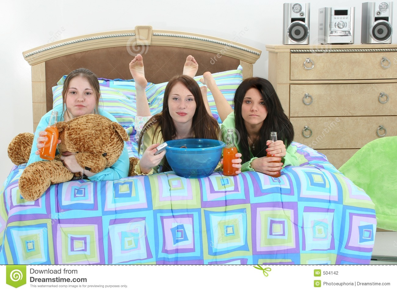 slumber party blogs teens