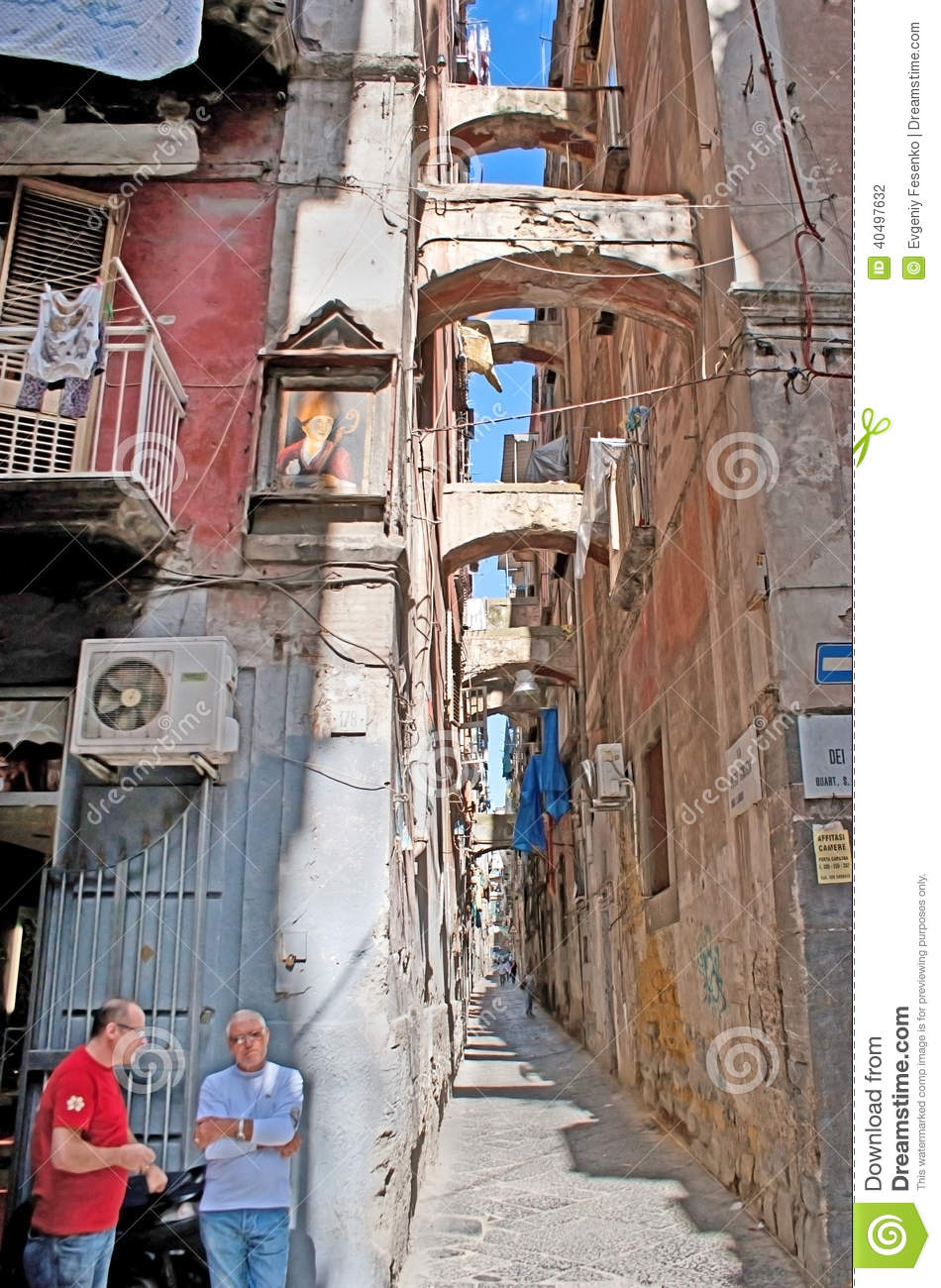 The Slums Of Naples Editorial Photography - Image: 40497632