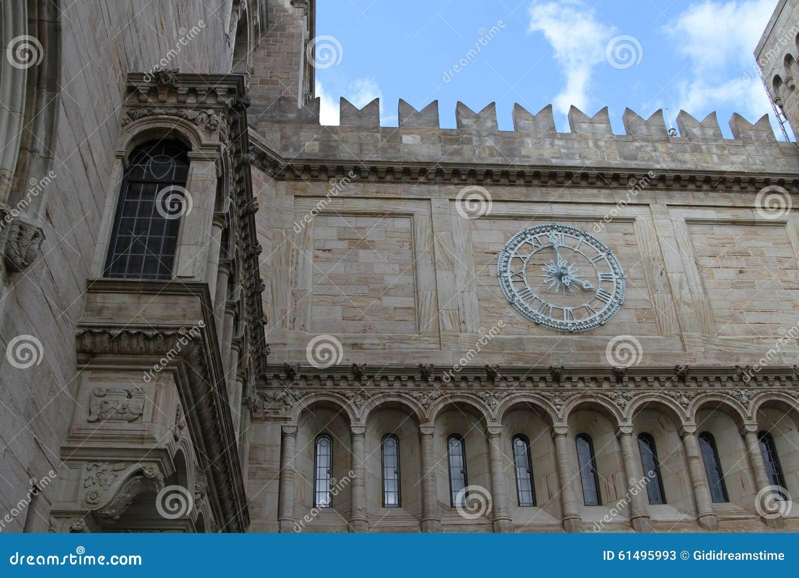 Slut upp av den Yale University Art Gallery klockan