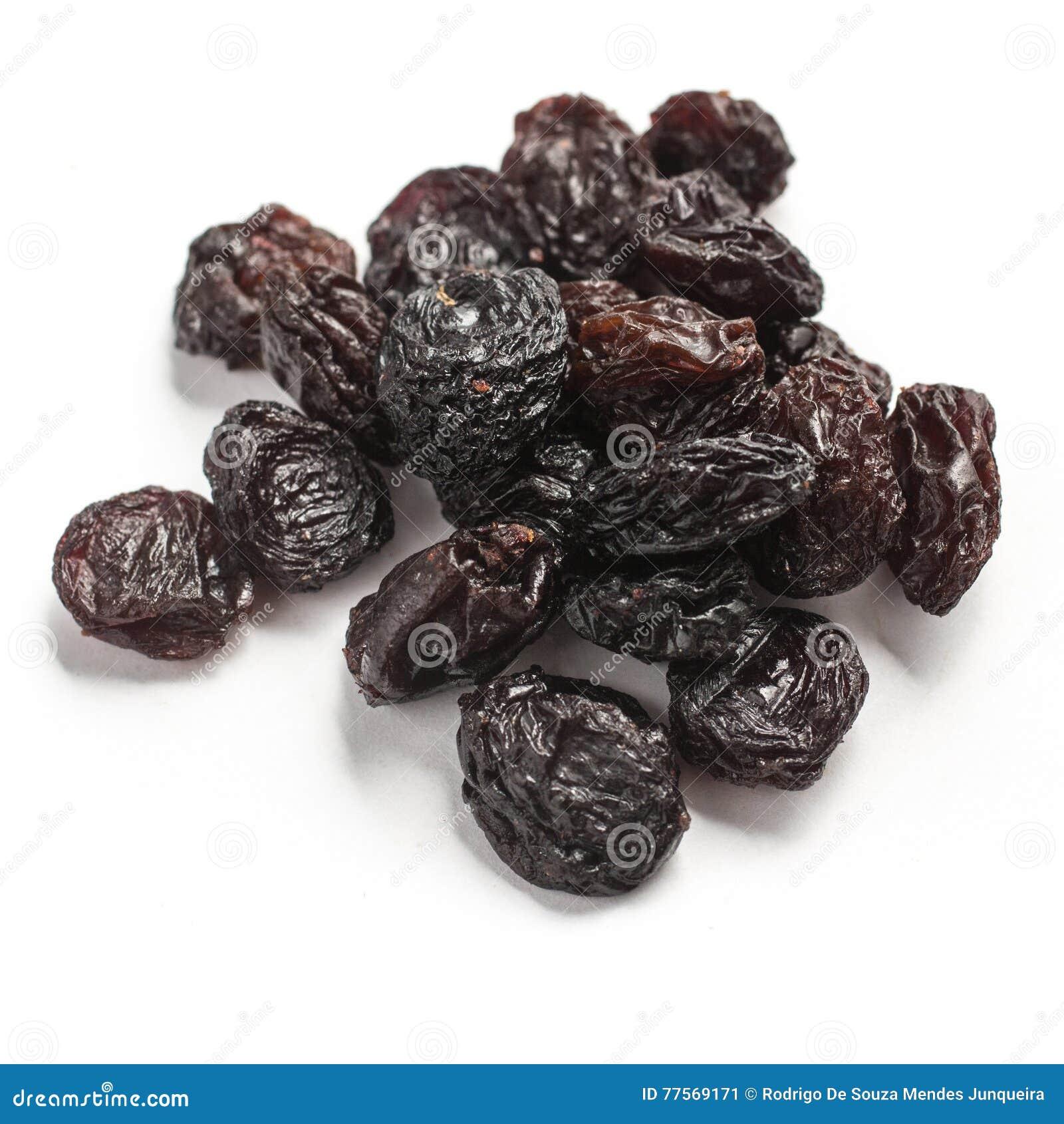 Slut upp på torkade druvor