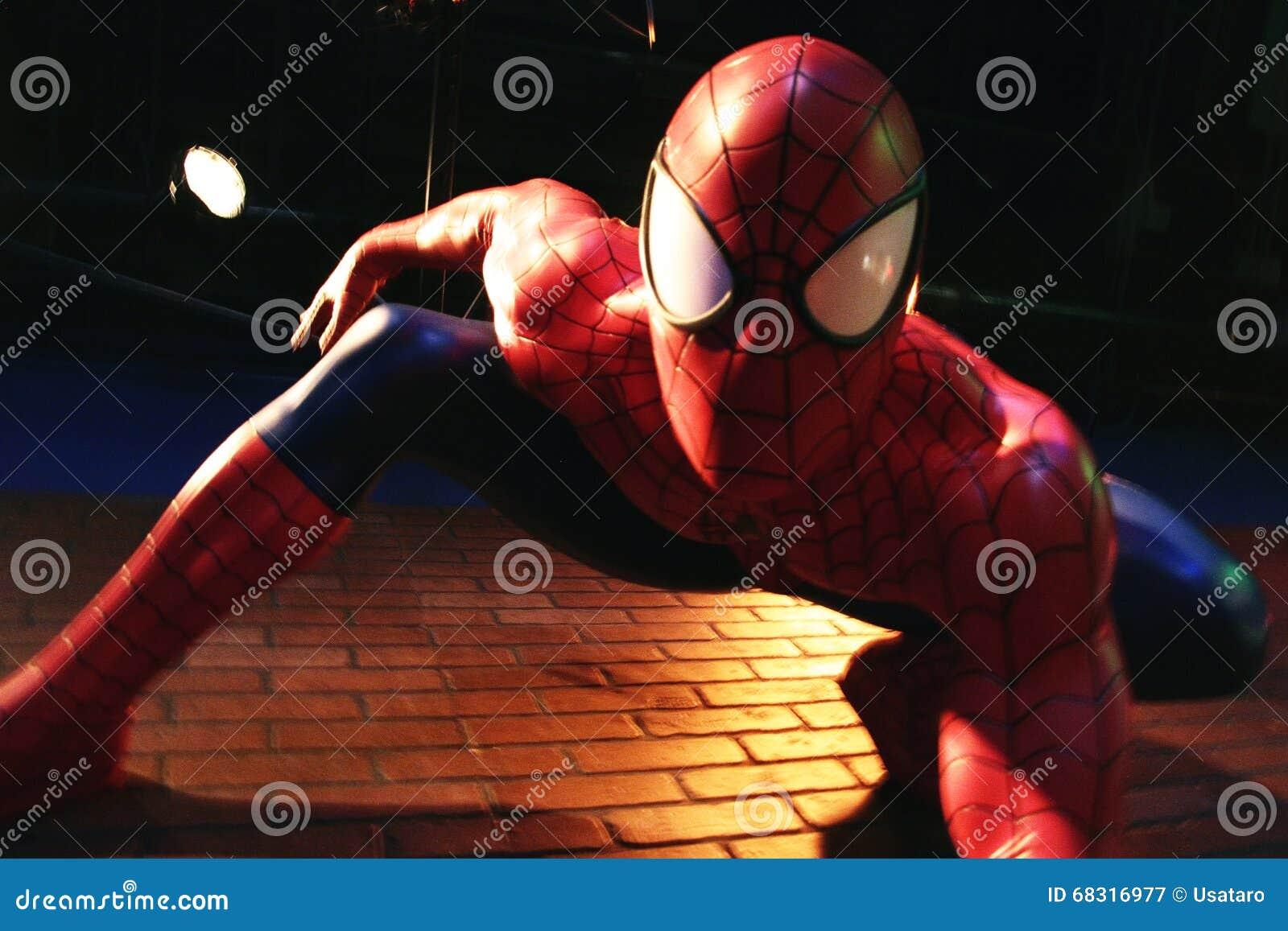 Slut upp spidermanen, museum för madam Tussauds