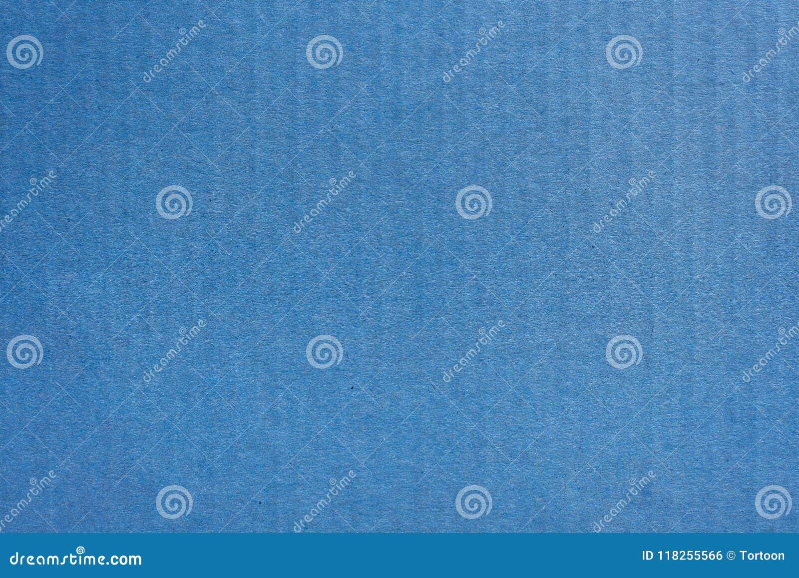 Slut upp textur och bakgrund kraft blå för pappers- ask