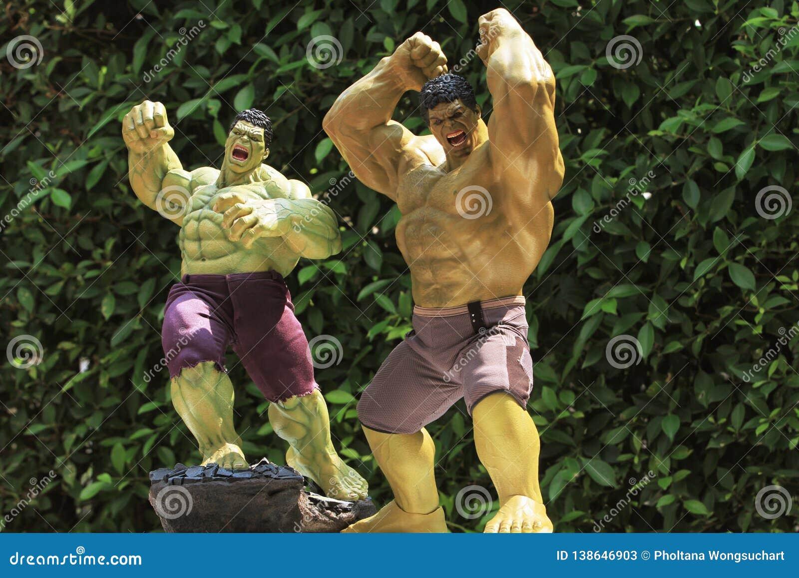 Slutet sköt upp av Hulk i HÄMNAREsuperherosdiagram i handling