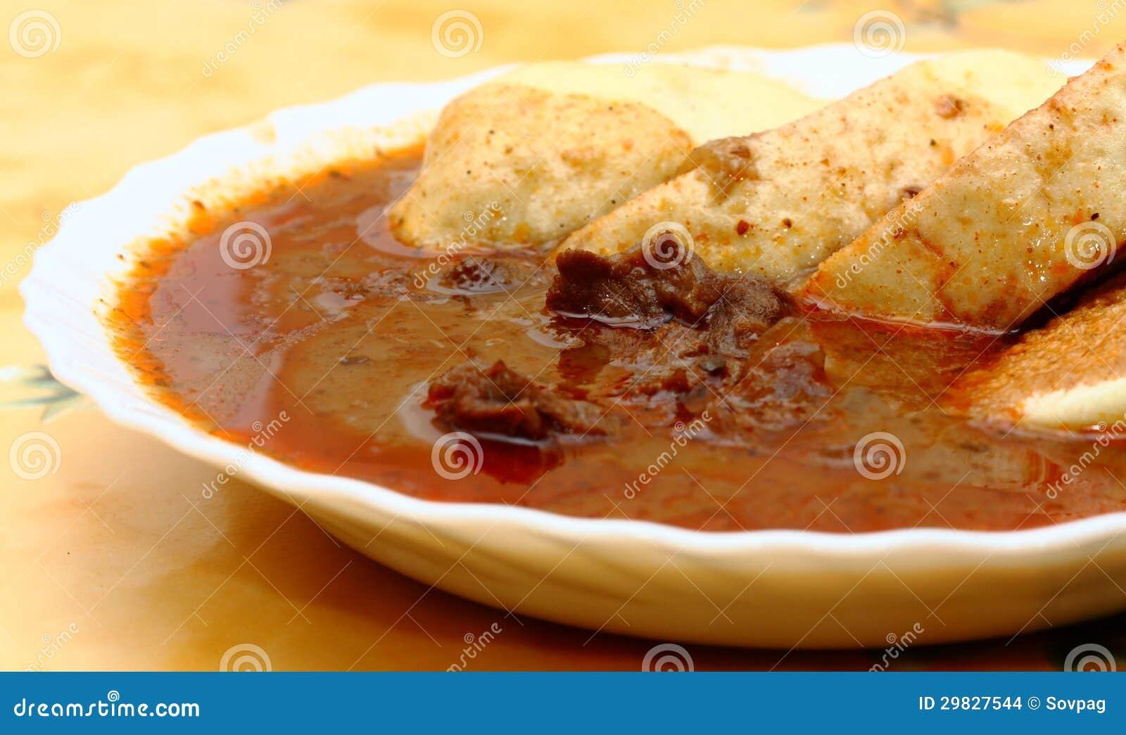 Tjeckisk goulash