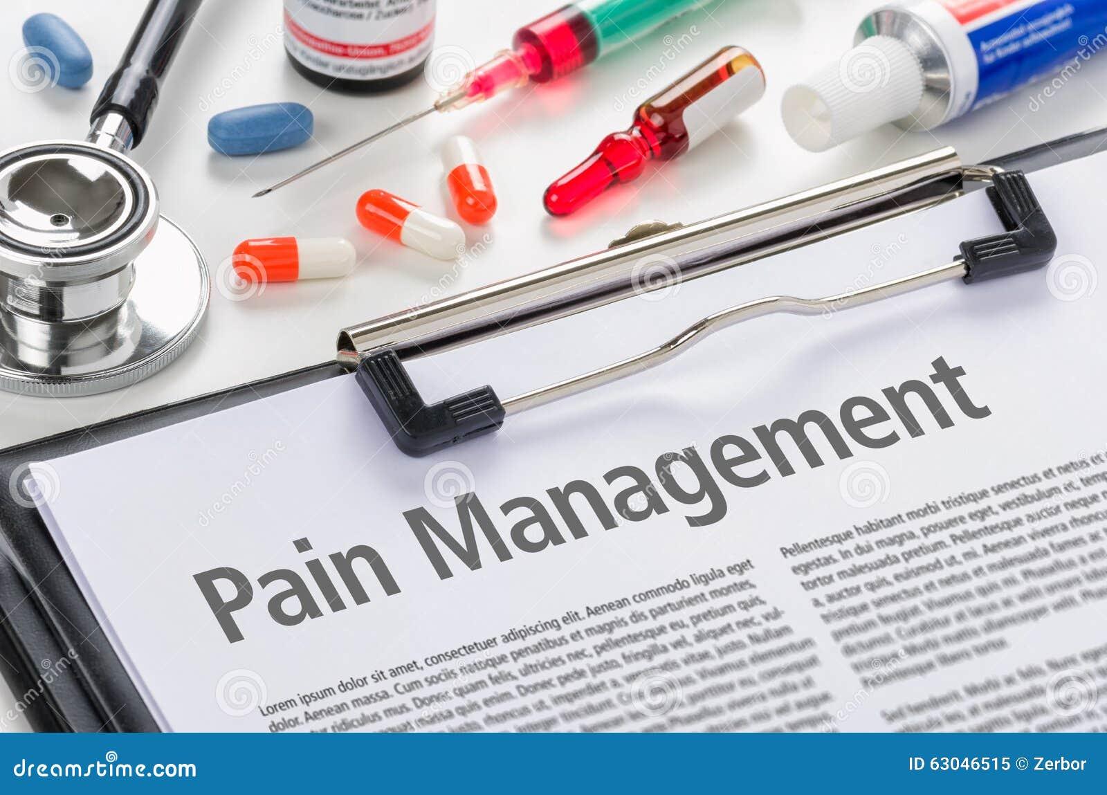 Smärta administrationen