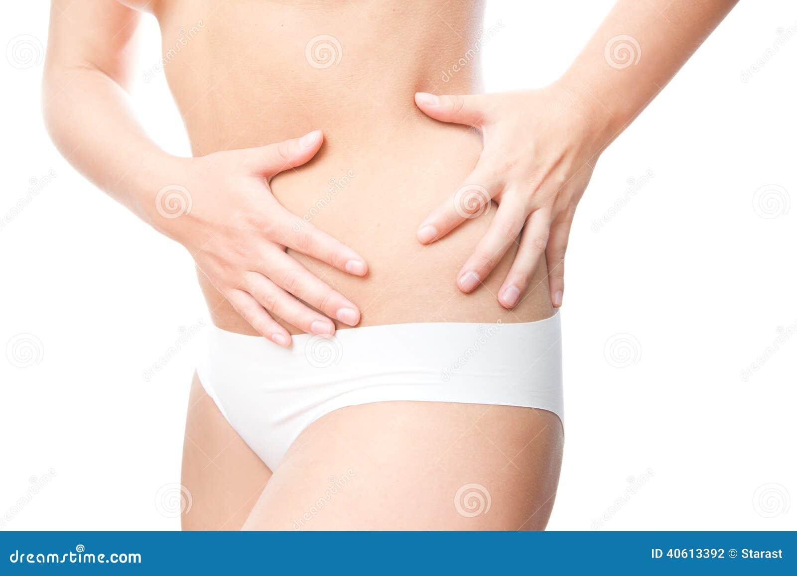 ont i vänster del av magen