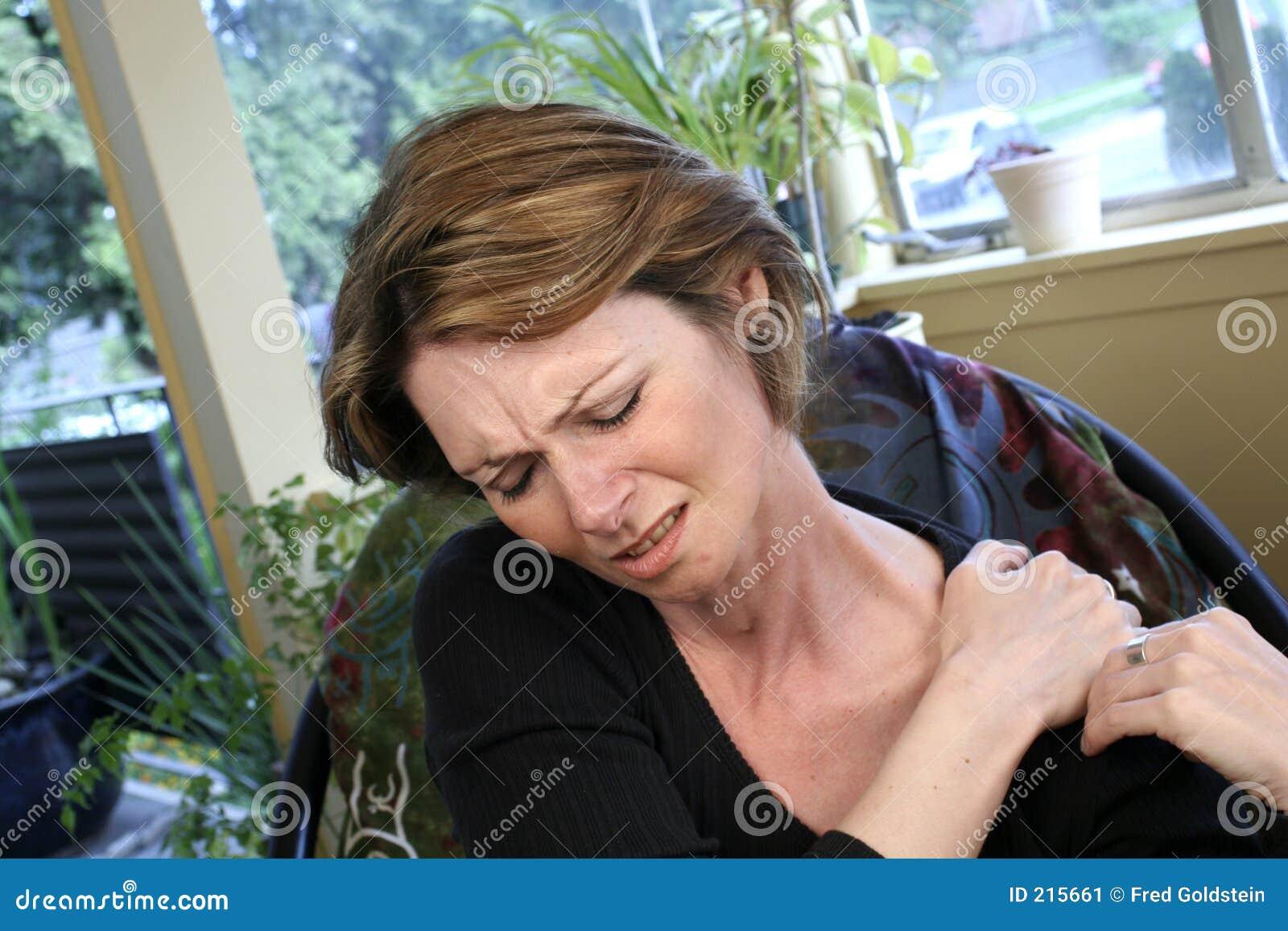 Smärta skulderen