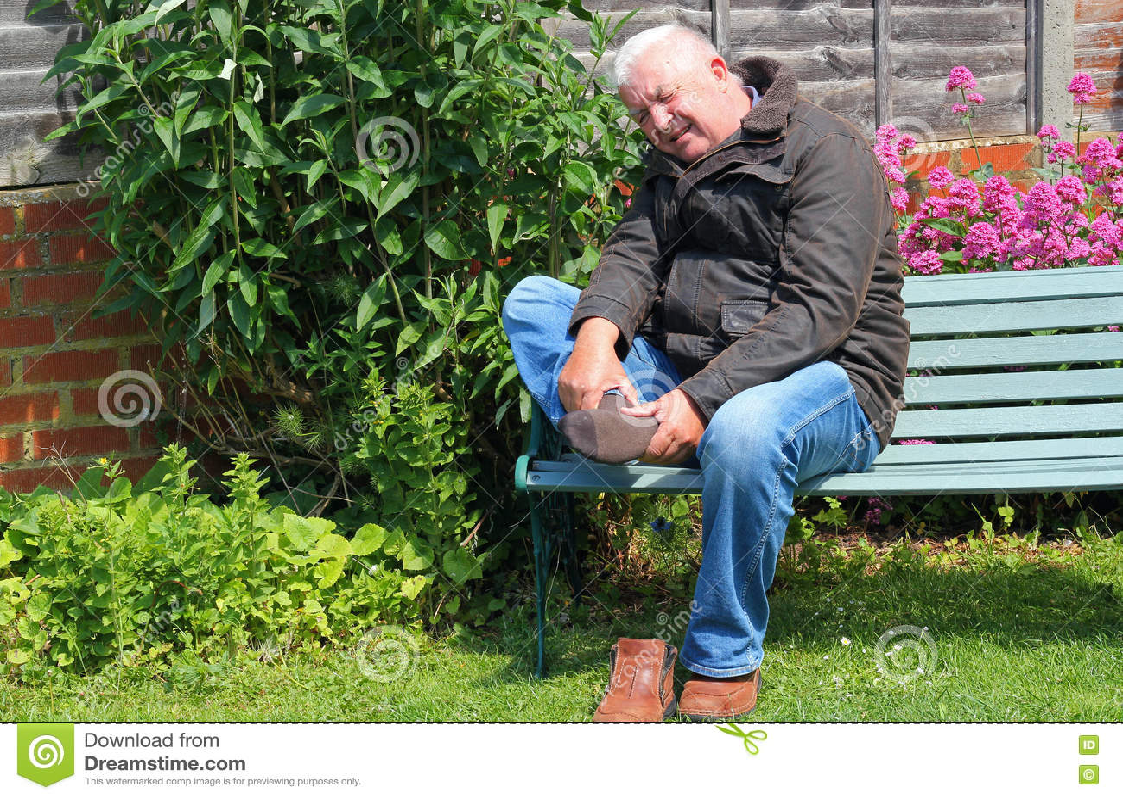 Smärtsam fot, skada eller artrit
