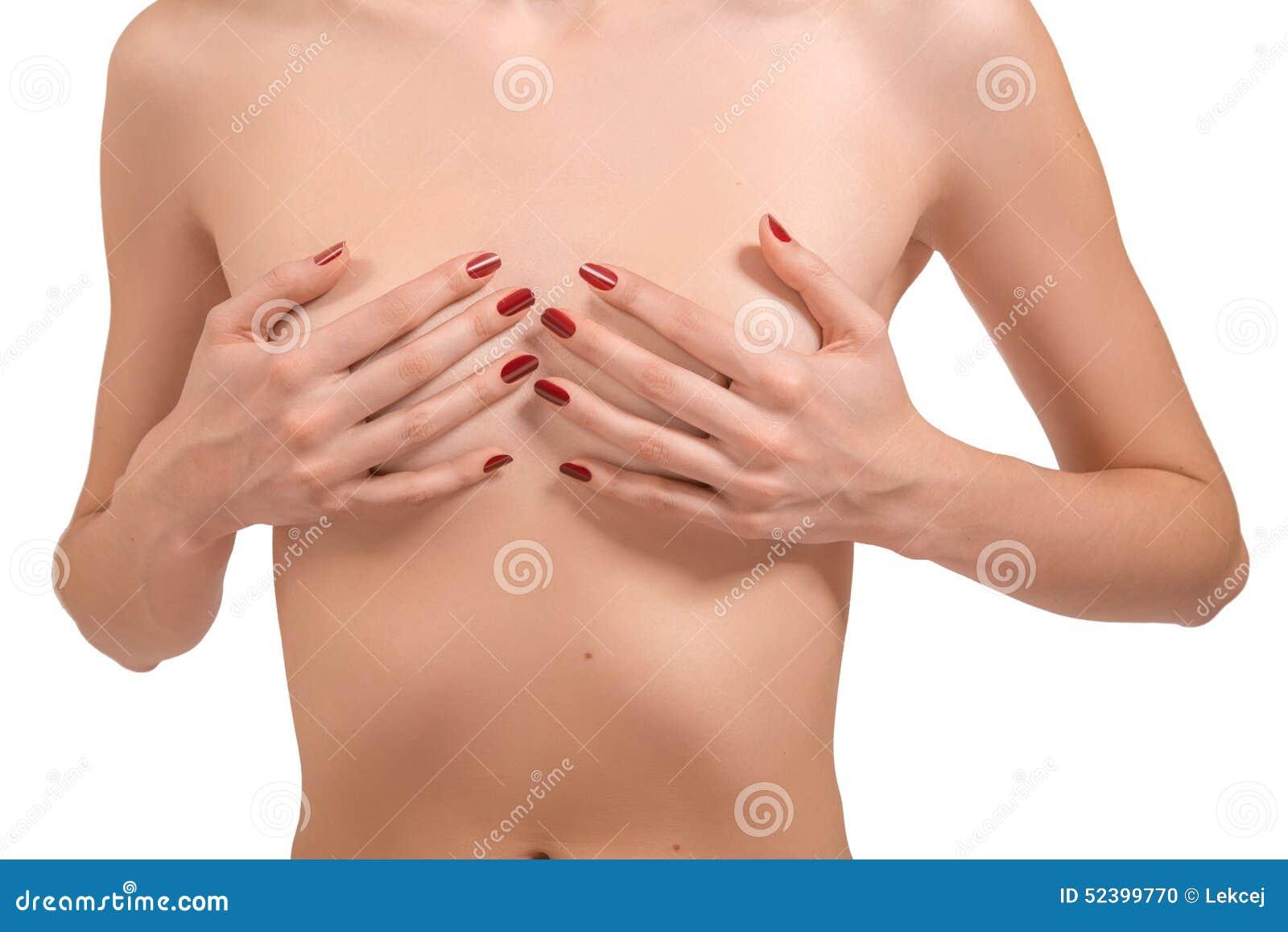 Flickor Med Små Bröst