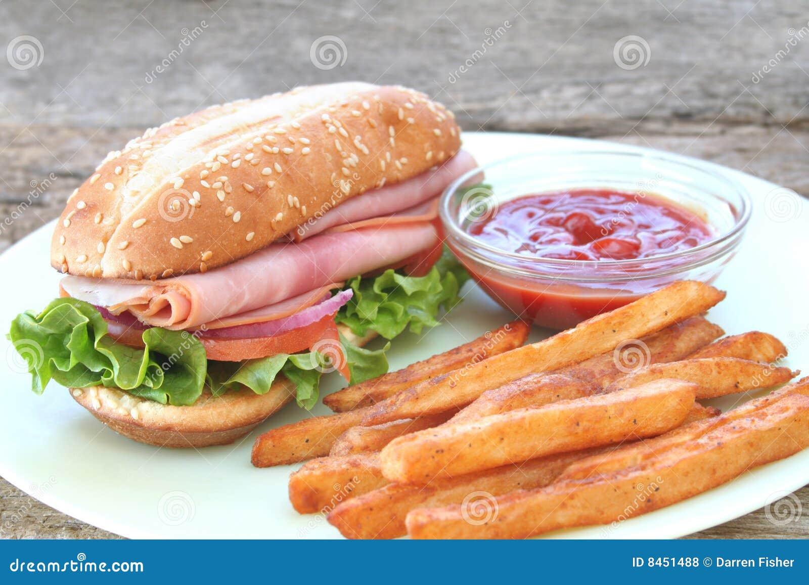 Småfisksmörgås