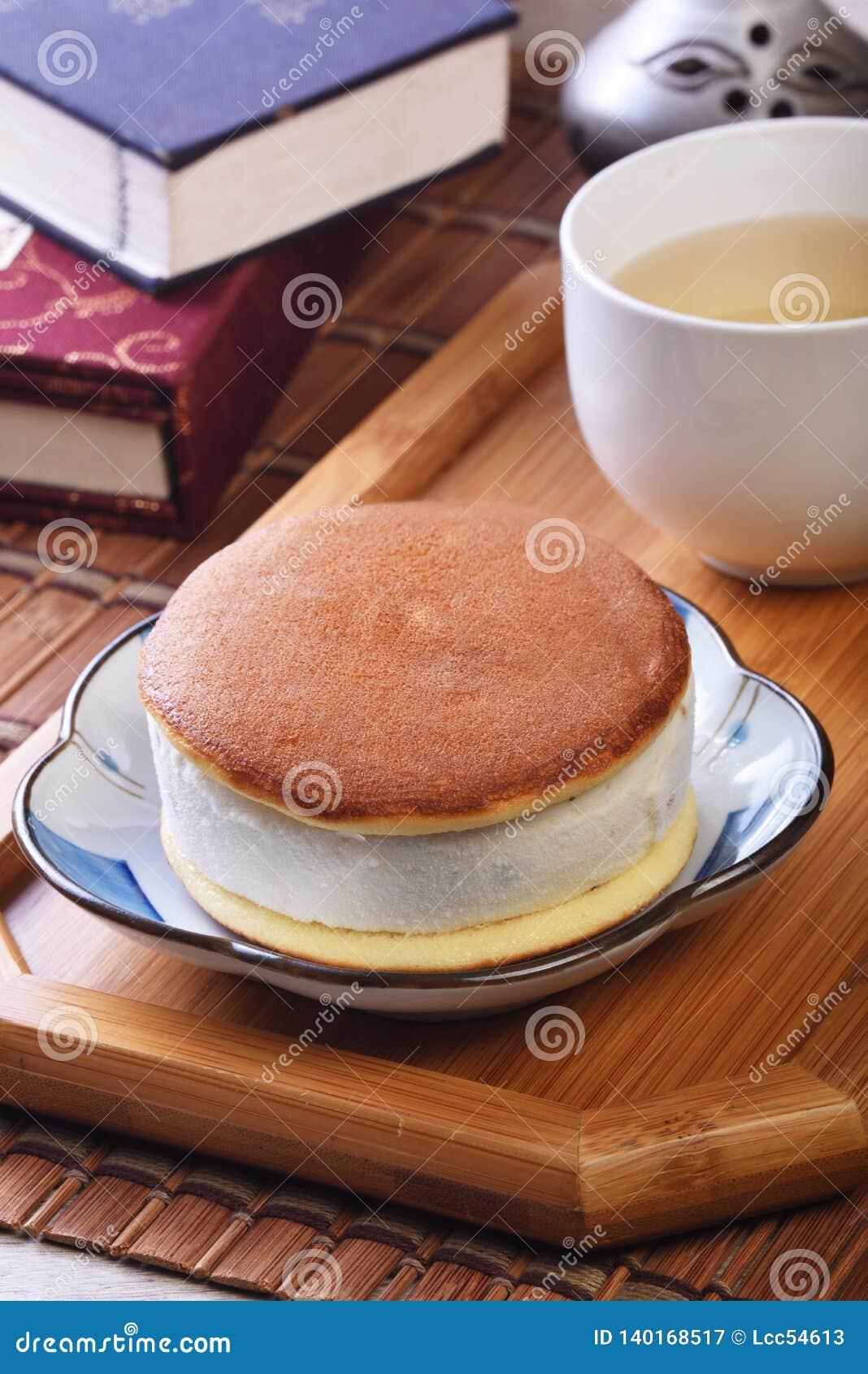 Smörgås för romrussinglass