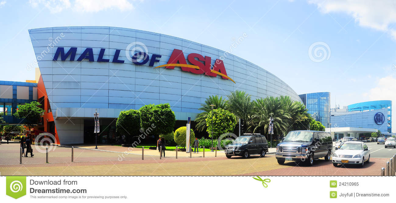 Sm Mall Of Asia Editorial Image Image 24210965