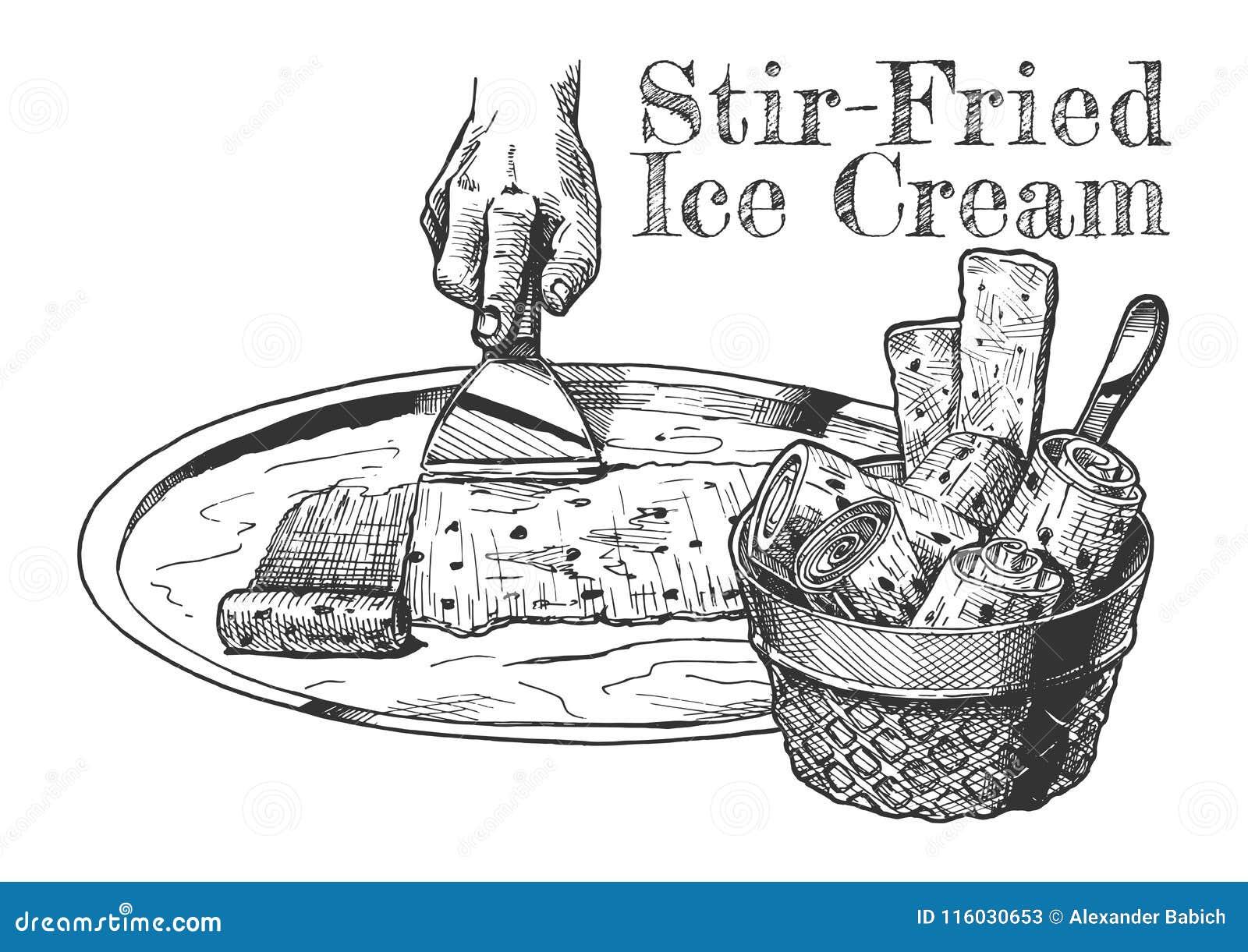 Smażący lody