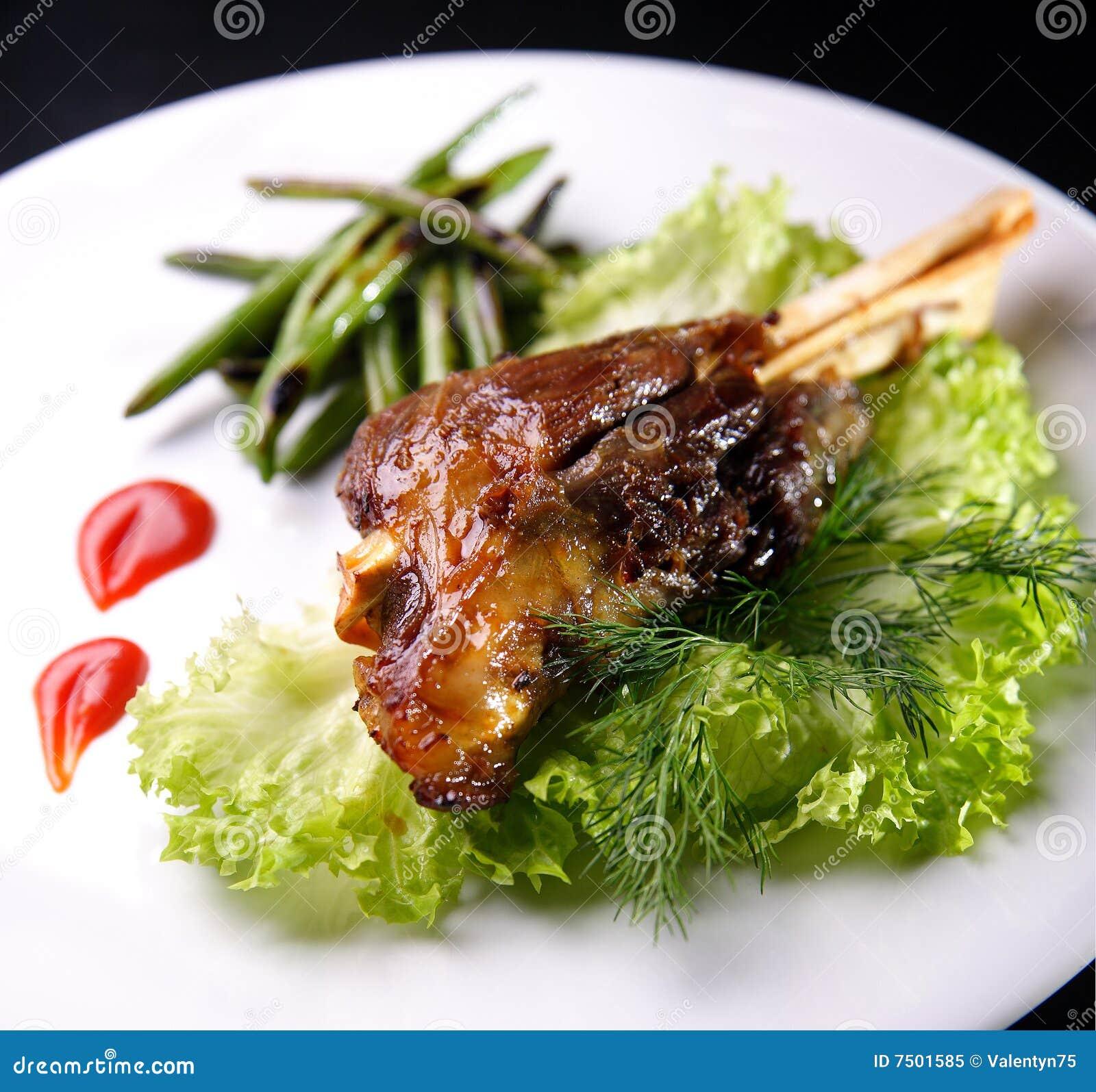Smażący mięso