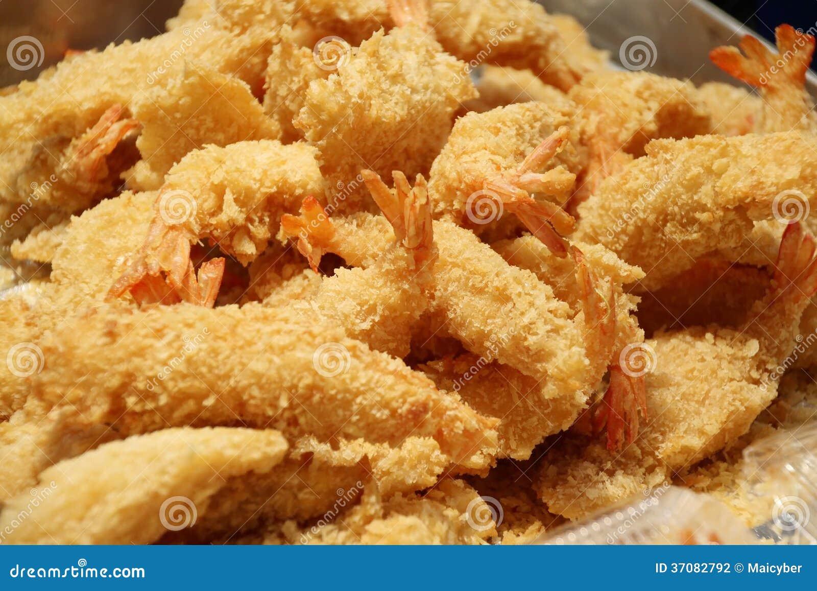 Download Smażyć Krewetki Lub Smażąca Garnela Zdjęcie Stock - Obraz złożonej z seafood, kruszki: 37082792