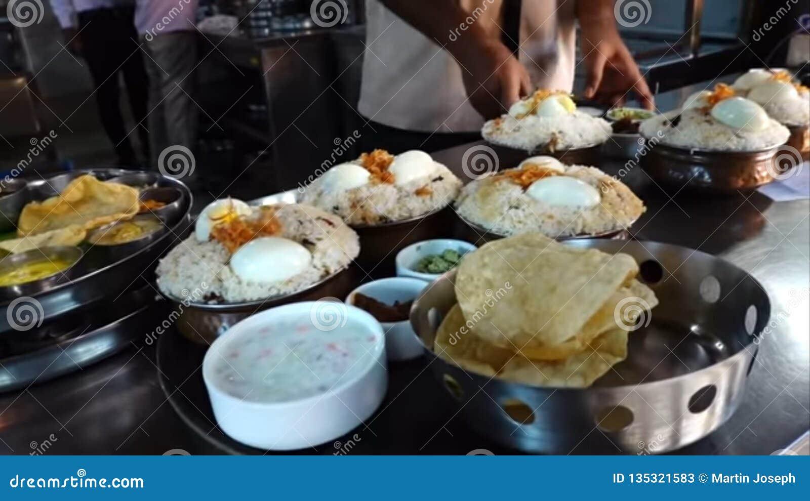 Smakelijk voedsel van Kerala