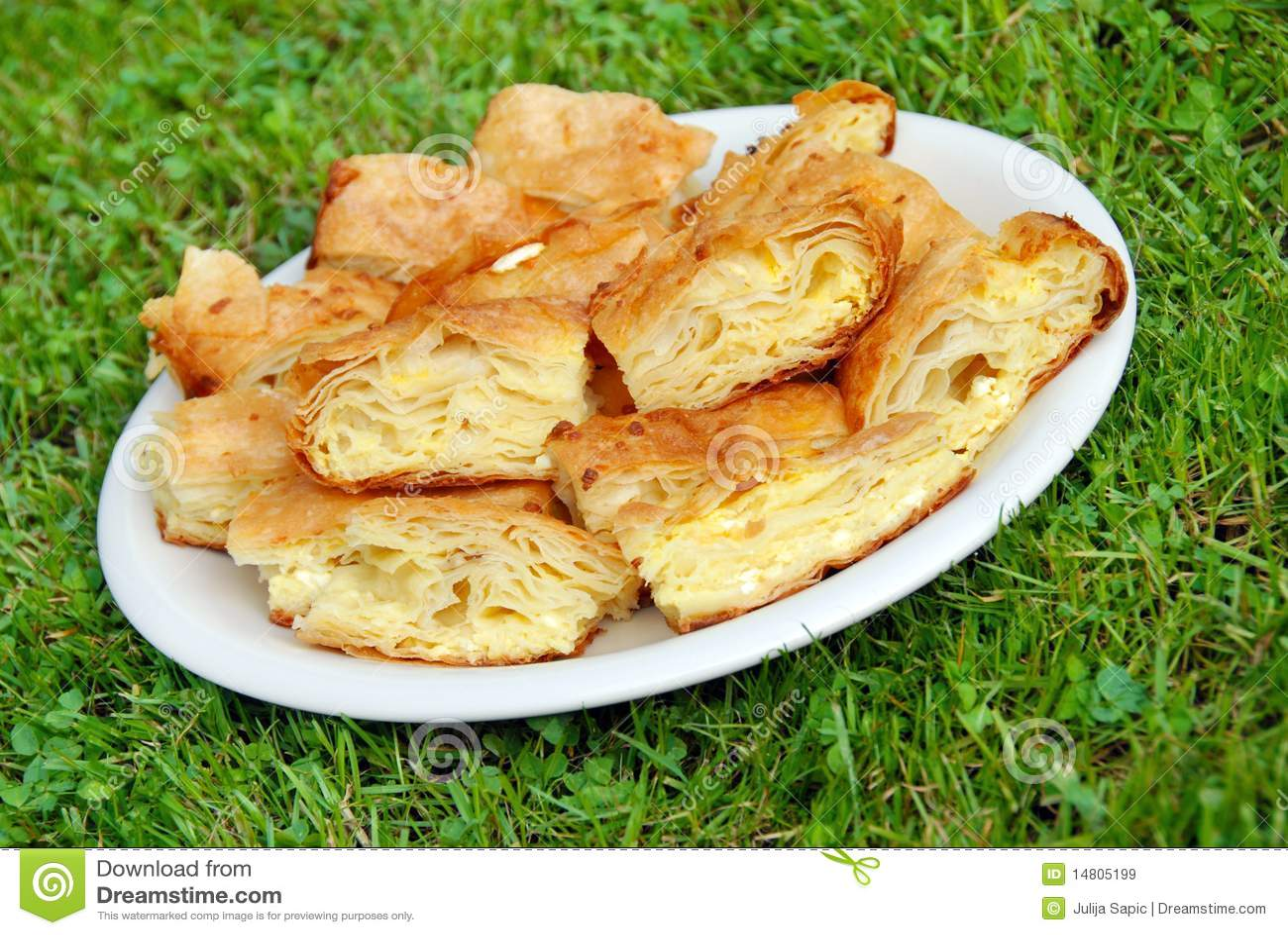 Smakelijke eigengemaakte pastei