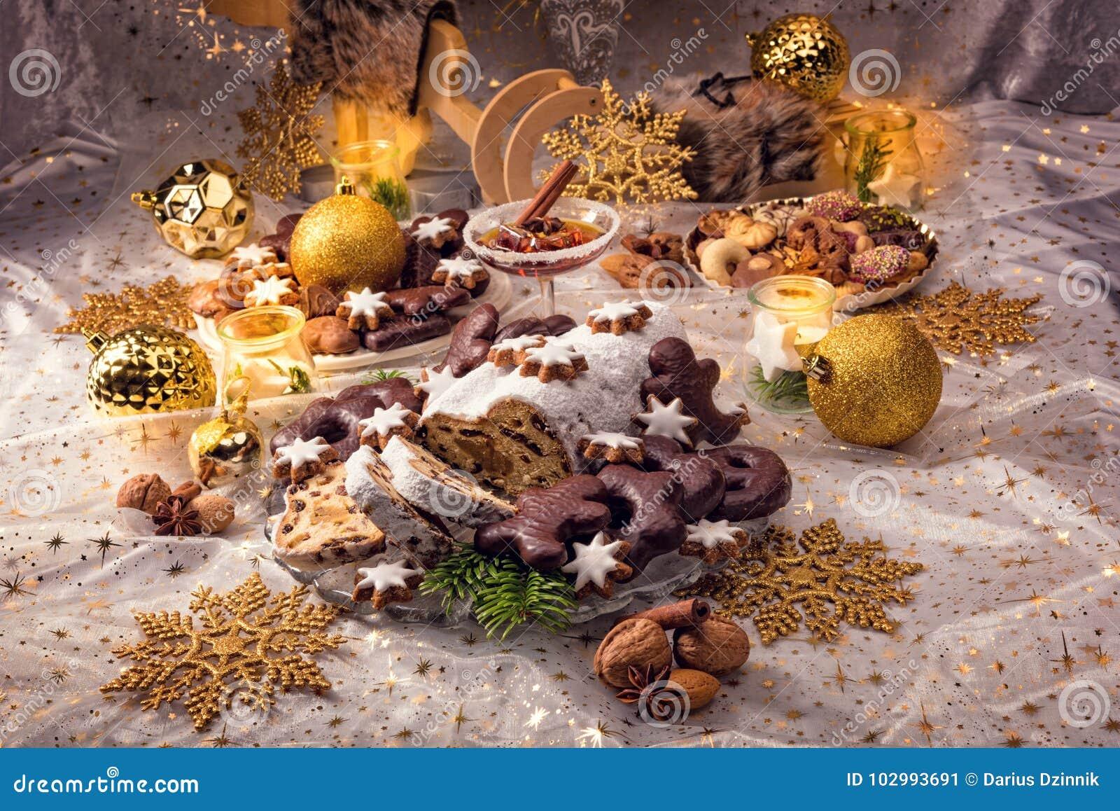 Smakelijke Kerstmis Stollen