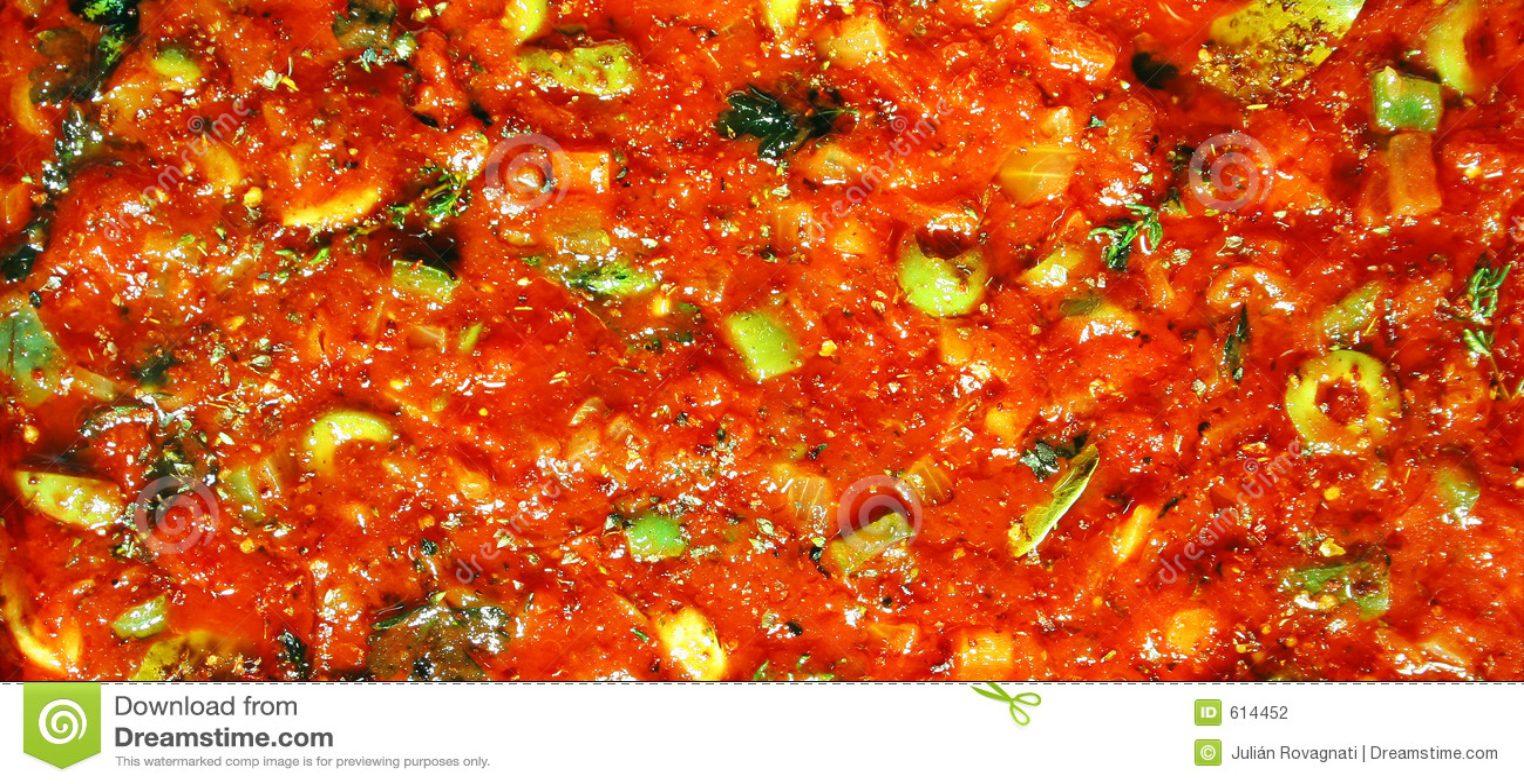 Smakelijke tomaten souce achtergrond