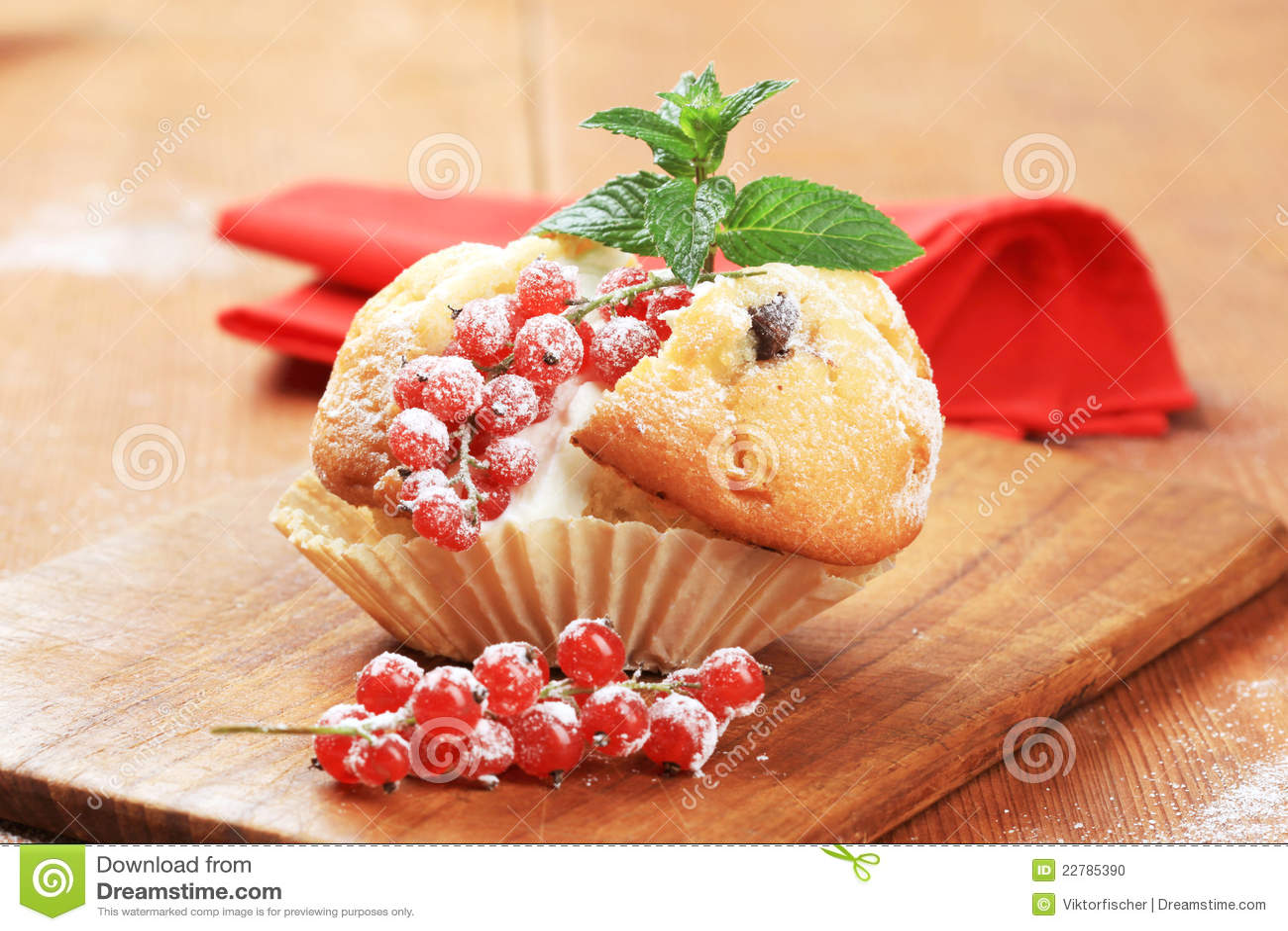 Smaklig muffin