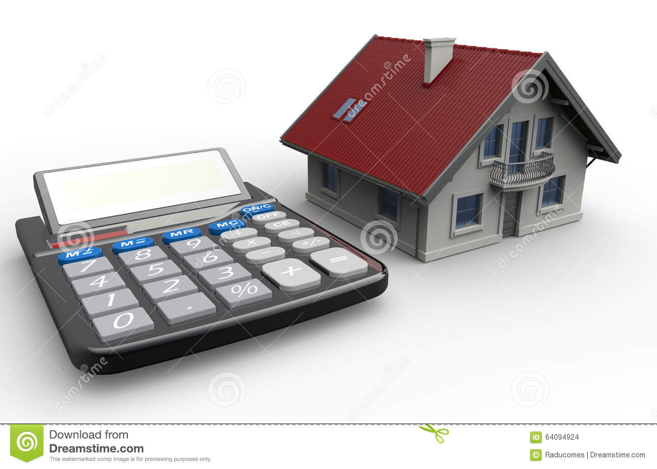 Small rendered hostipal stock photo for Building a home calculator