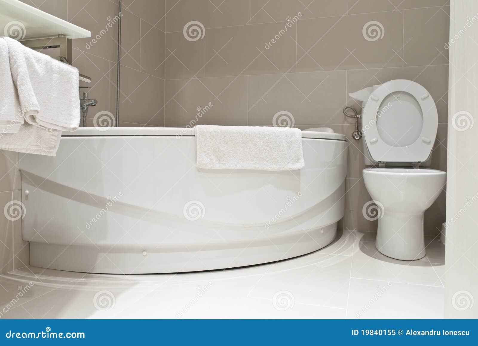 Mini Jacuzzi Bathtub.Small Bathroom Stock Image Image Of Bathroom Watercloset