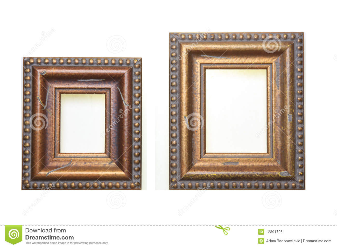 small and big picture frames