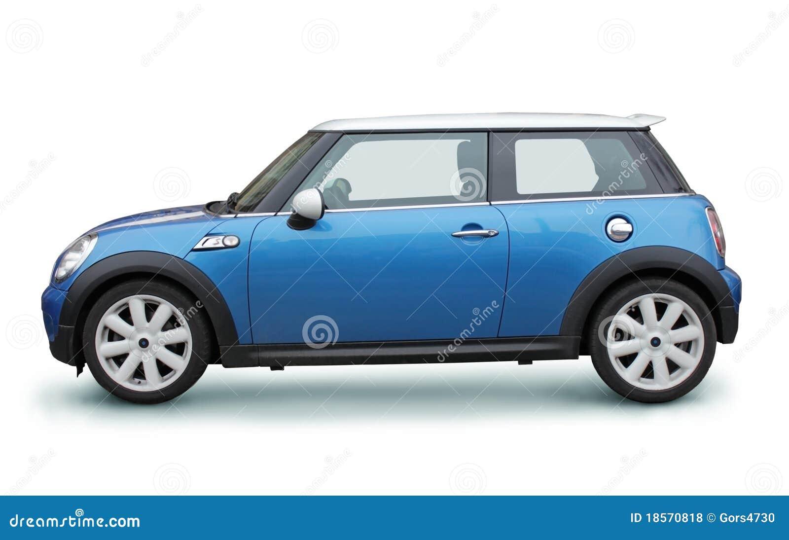 Small Blue Car Royalty Free Stock Photos Image 18570818