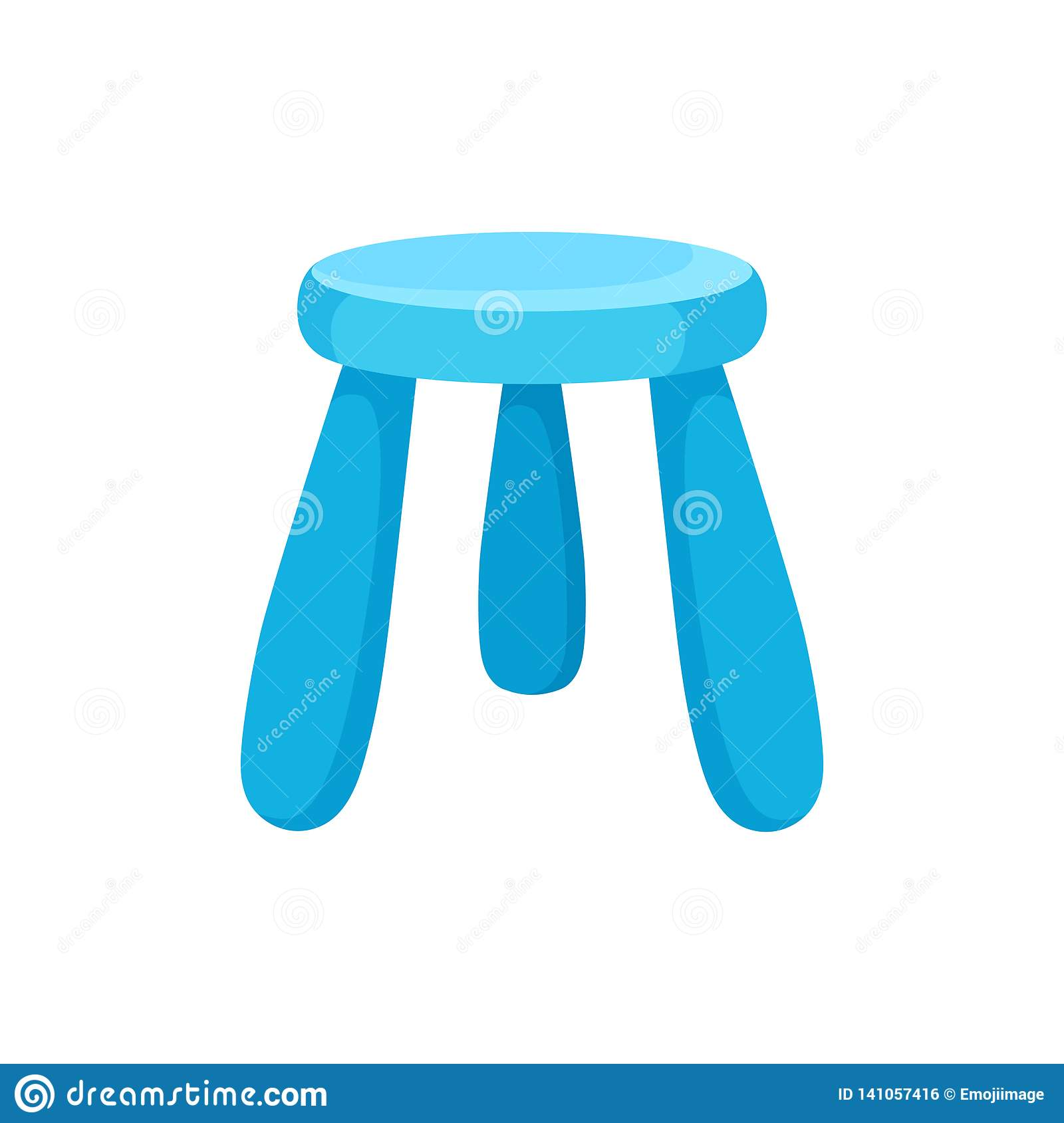 Awe Inspiring Small Blue Kid Chair With Round Seat Furniture For Caraccident5 Cool Chair Designs And Ideas Caraccident5Info