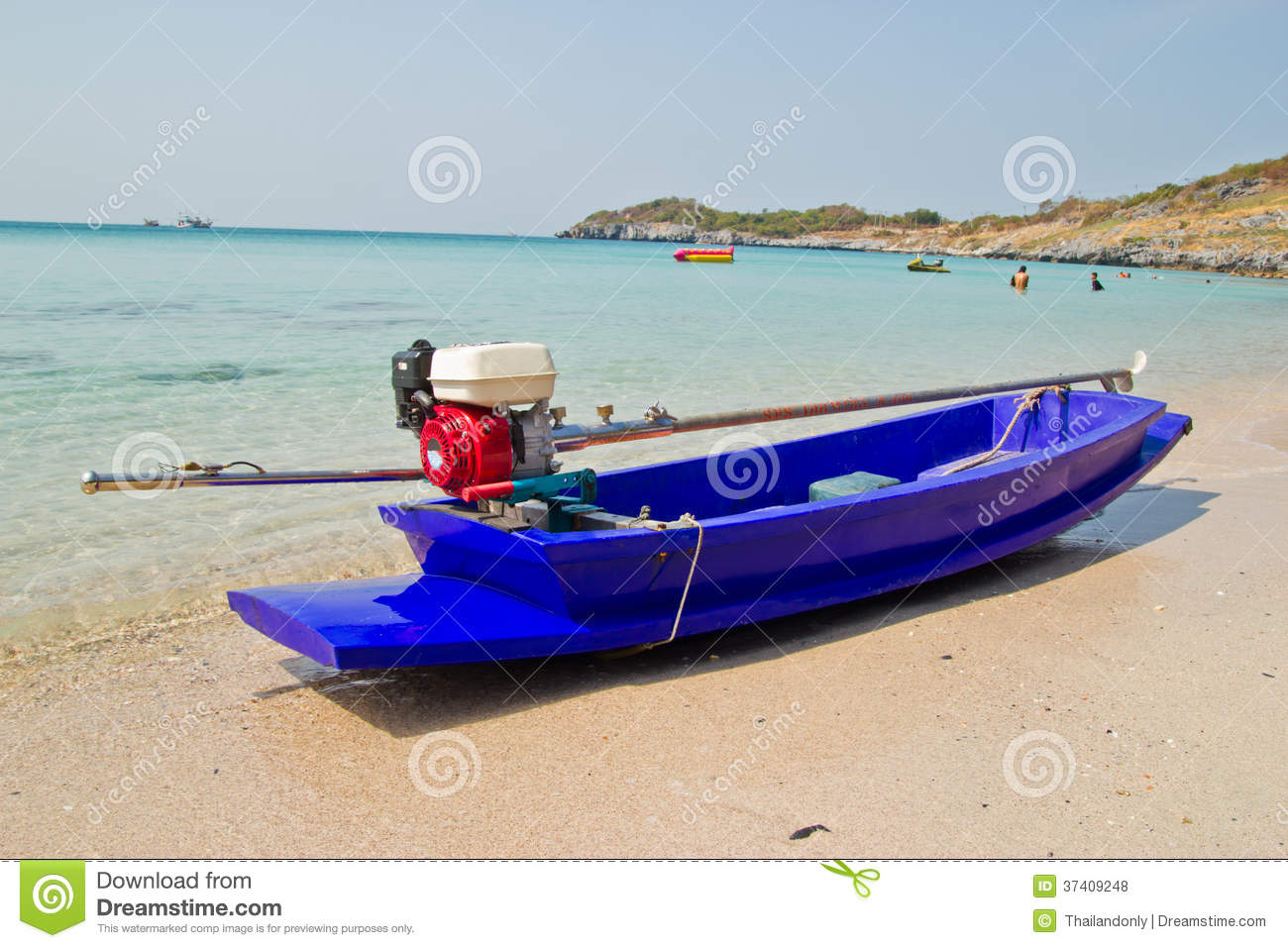 Small Boat On Beach Royalty Free Stock Photos - Image ...
