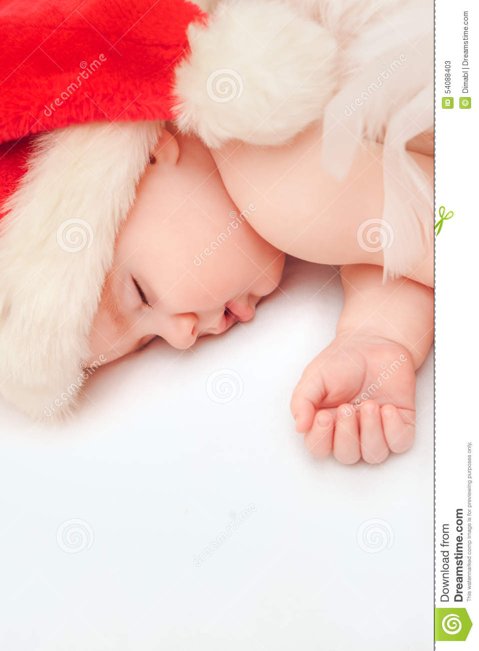 396734b6d Small Boy Sleeping In A New Year's Cap Stock Image - Image of ...