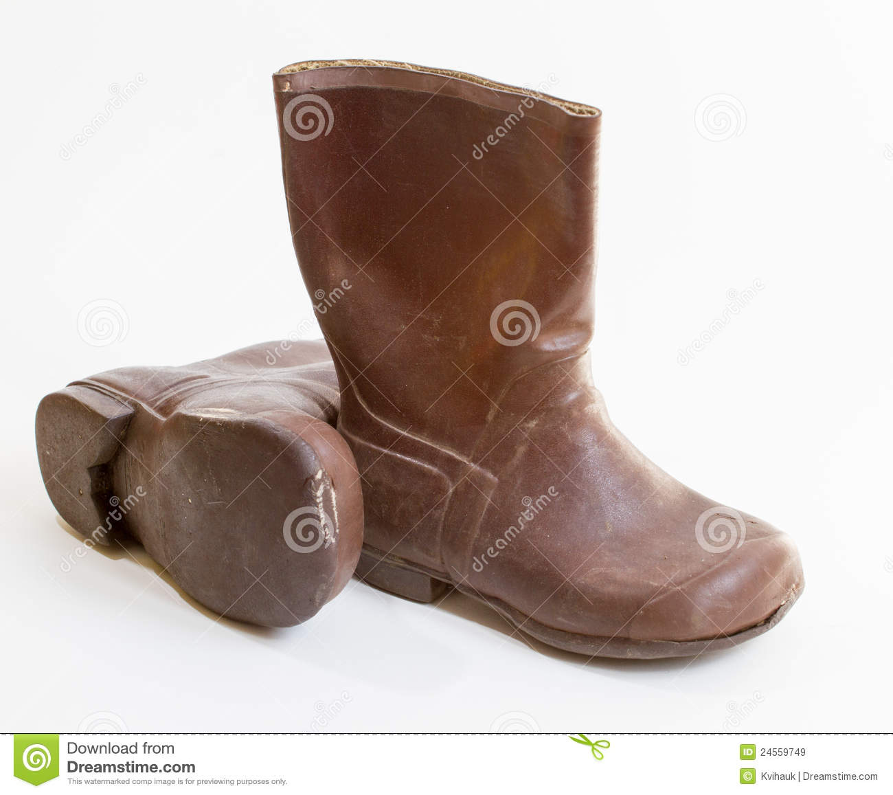 small brown boots royalty free stock images image 24559749