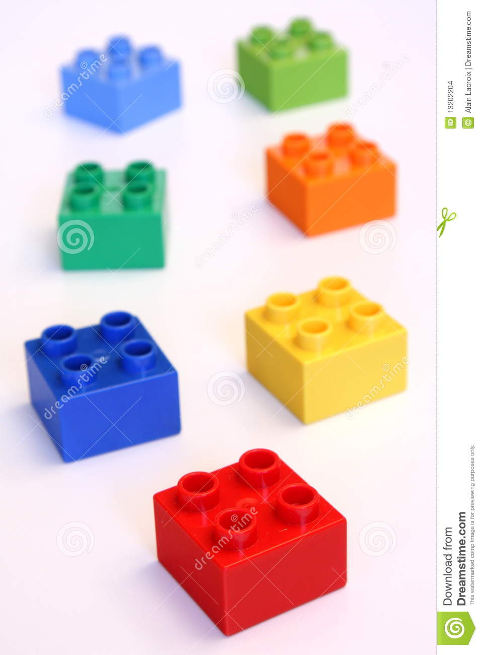 Small Building Blocks Stock Images Image 13202204