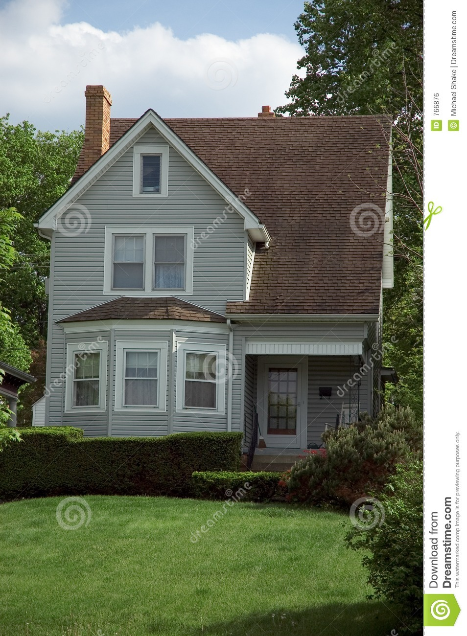 Small Bungalow House Royalty Free Stock Image Image 766876