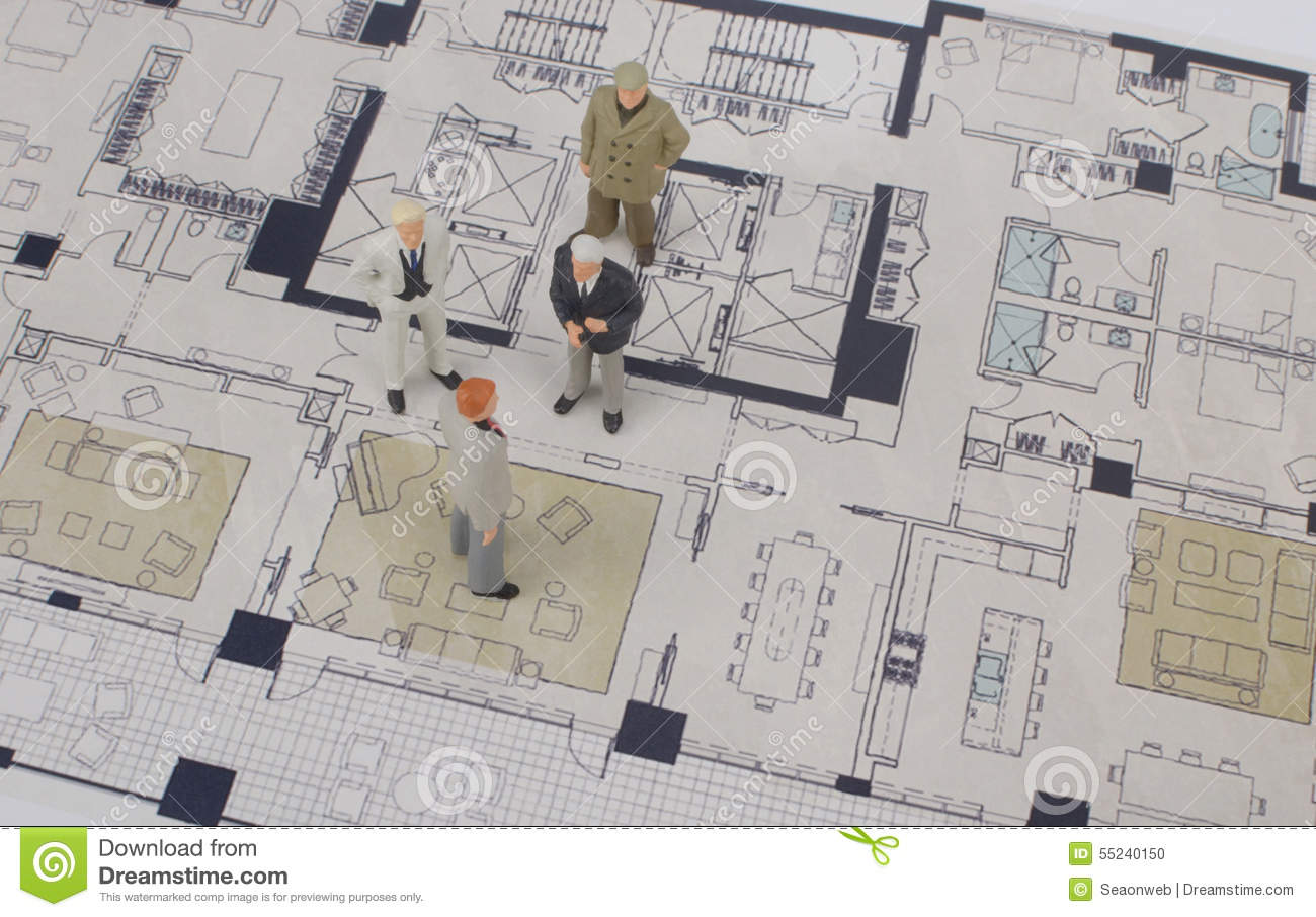A small business figures stock illustration image 55240150 for Small business floor plan