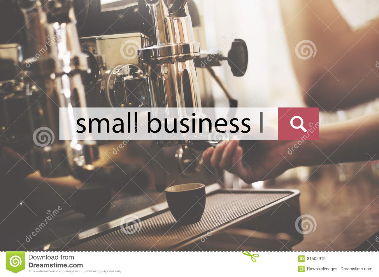 Small Business Start Up Ownership Local Business Concept